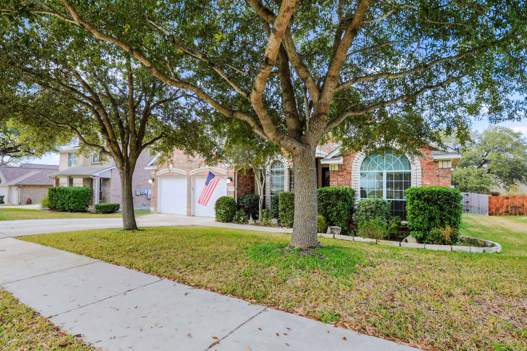 Single Family Homes for Active at Single Story Home with Pool 332 Brush Trail Bend Cibolo, Texas 78108 United States