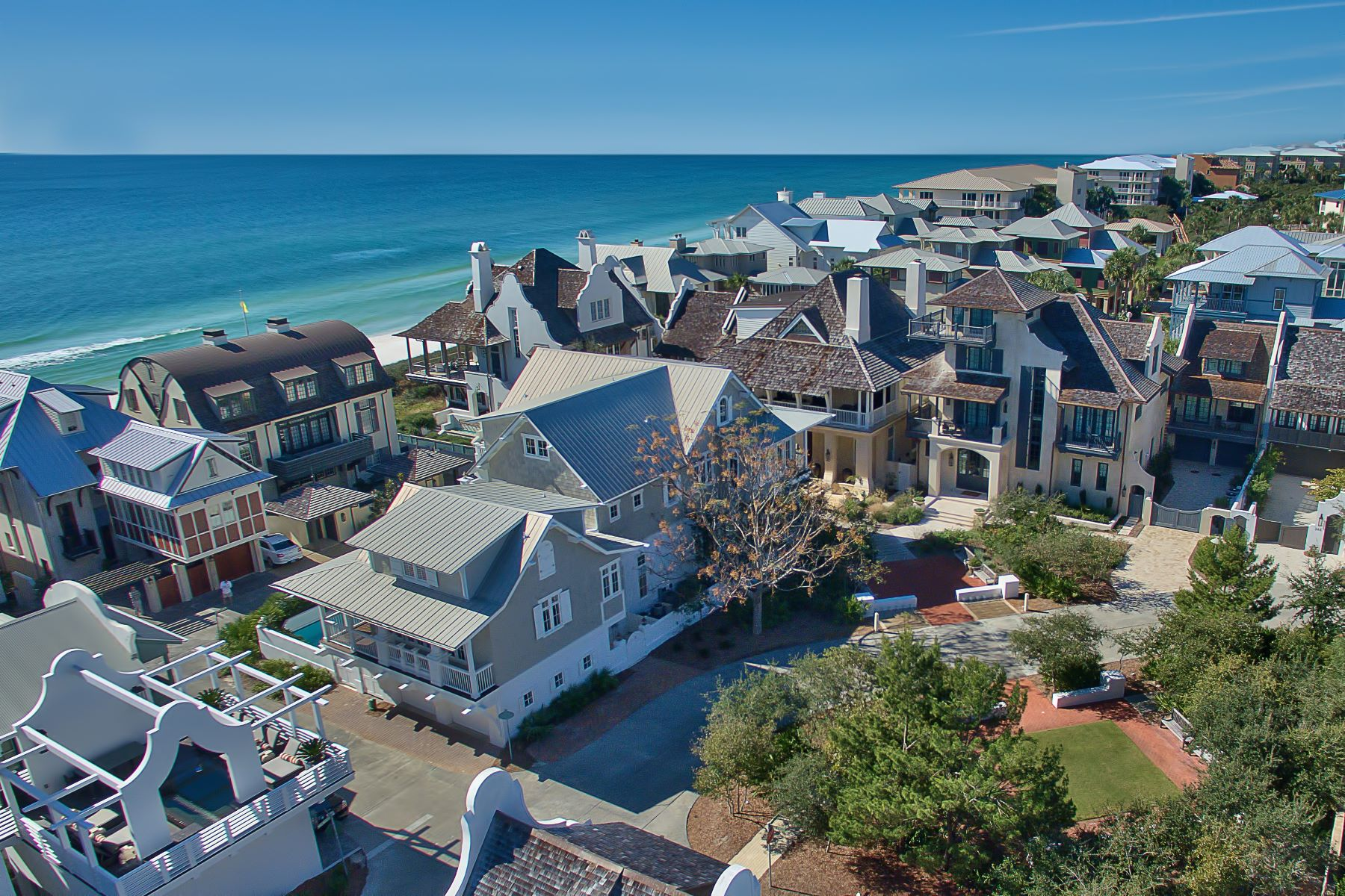 Single Family Homes for Sale at Double Lot Compound in Rosemary Beach 12 South Spanish Town Lane Rosemary Beach, Florida 32461 United States