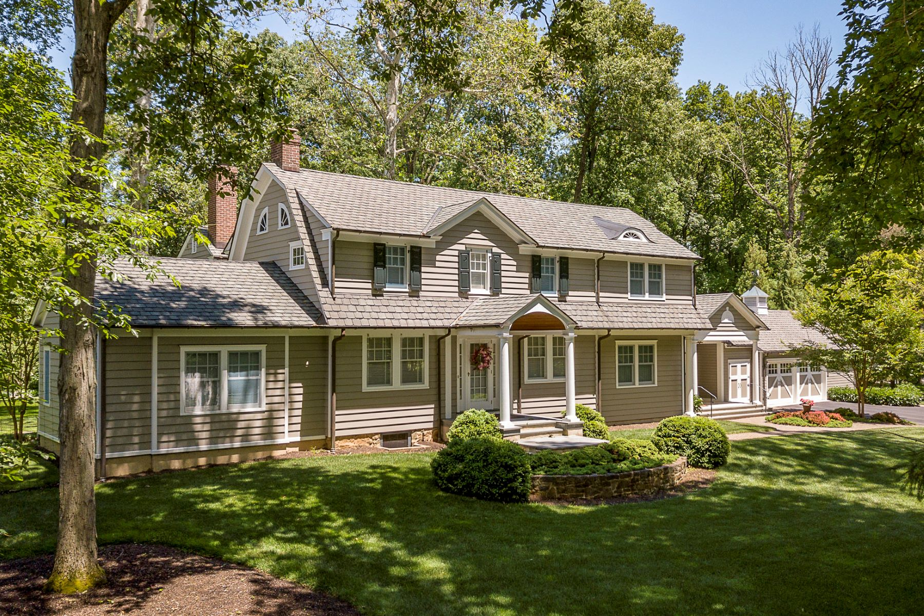 Single Family Homes for Sale at Transformed By A Talented Team of Princetonians 56 Balcort Drive, Princeton, New Jersey 08540 United States