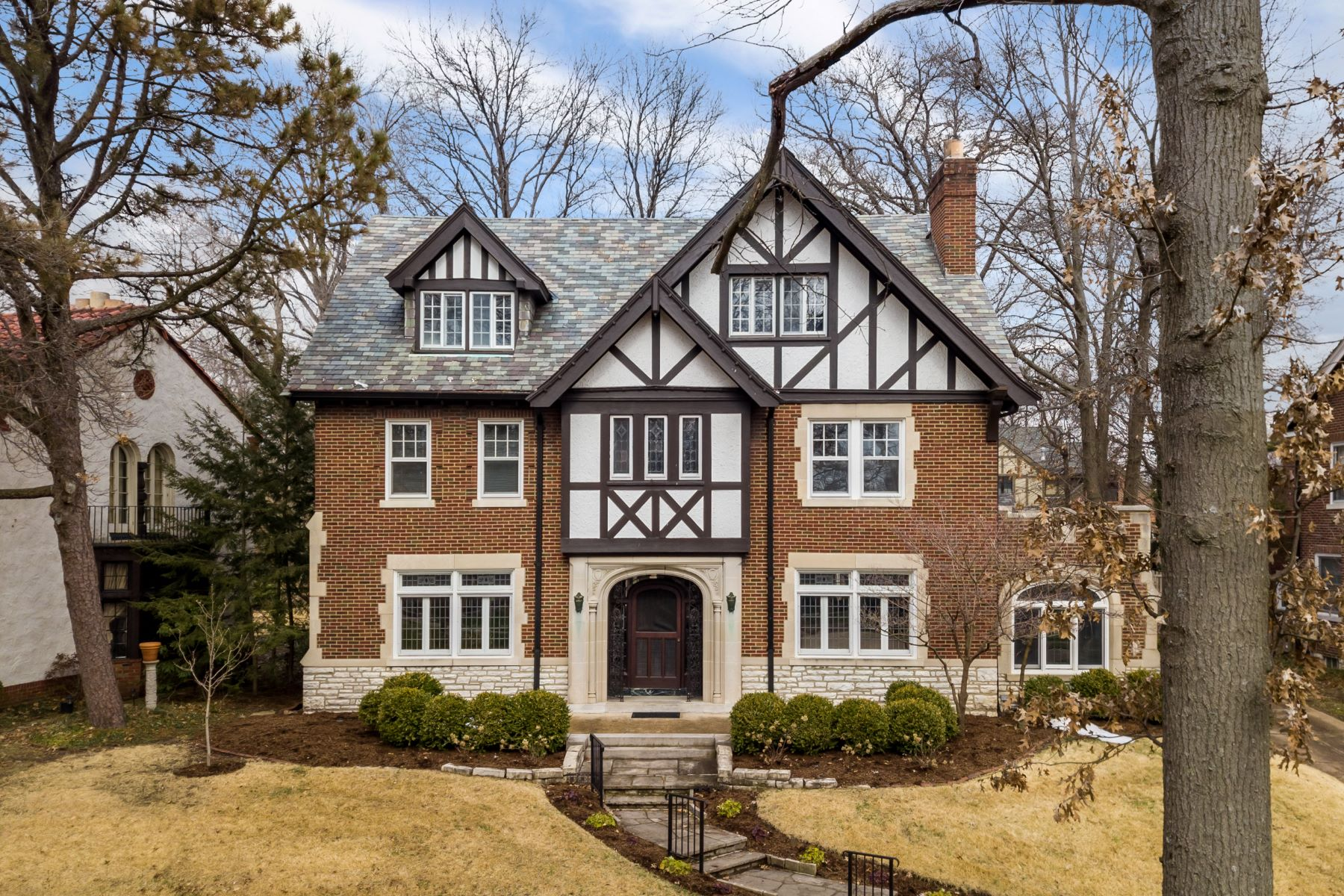 Property for Sale at Coveted University Hills Home with Gorgeous Architecture 7281 Greenway Avenue University City, Missouri 63130 United States