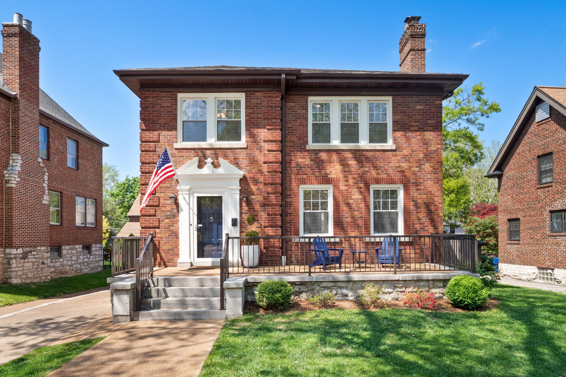 Single Family Homes for Active at Classic and Sophisticated 7241 Princeton Avenue University City, Missouri 63130 United States