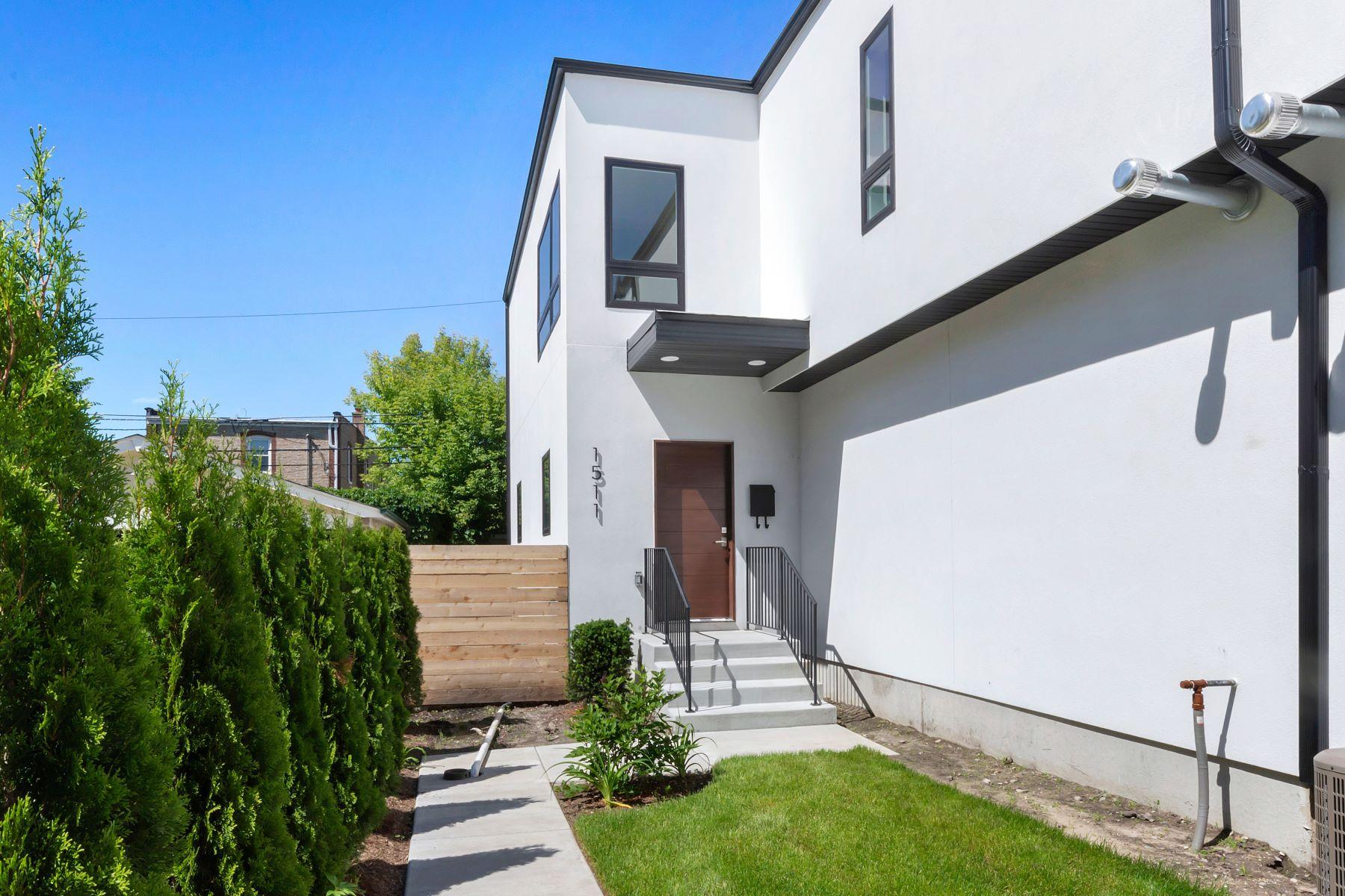 townhouses 为 销售 在 Stunning Evanston Home 1511 Wilder Street 埃文斯顿, 伊利诺斯州 60202 美国