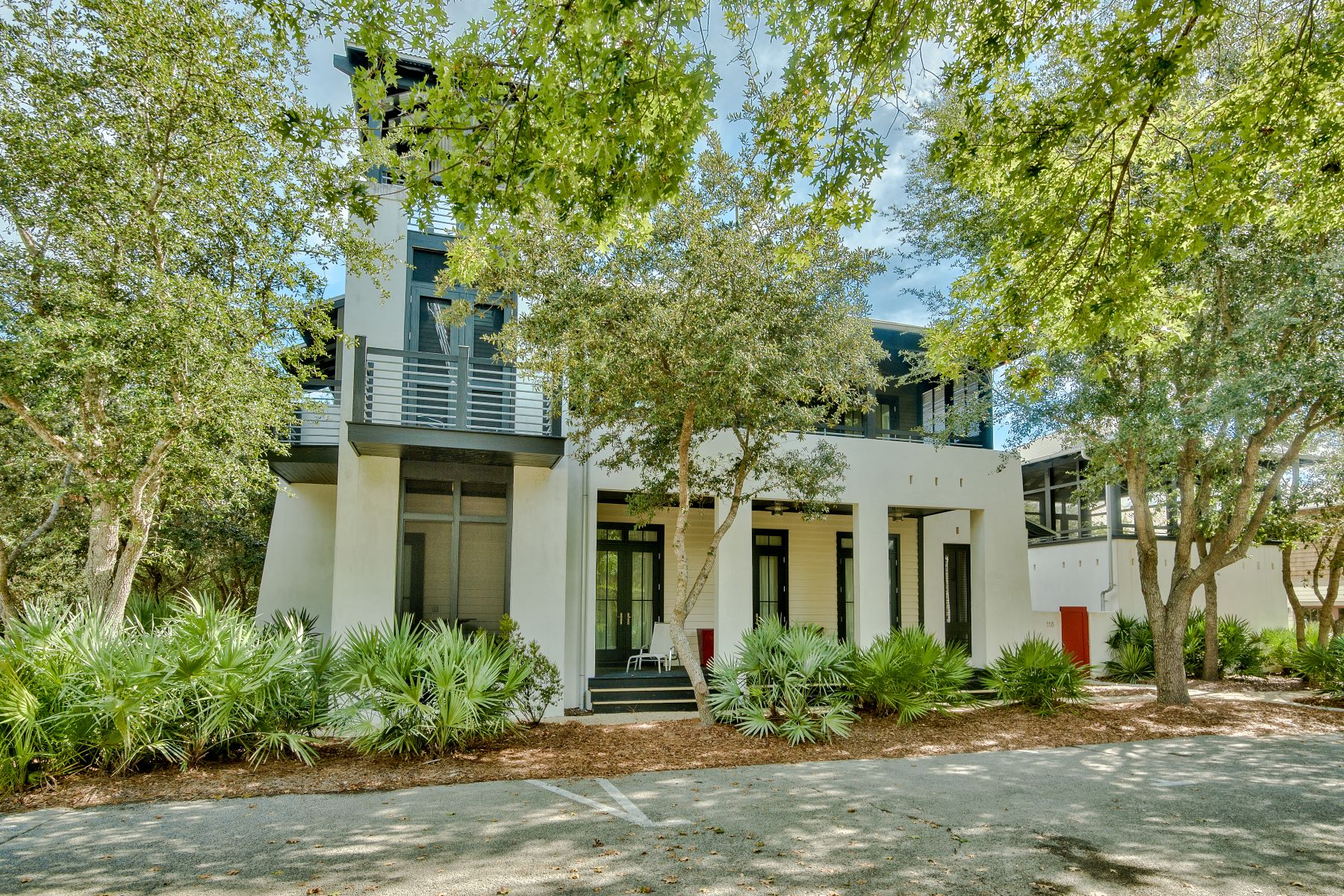 Single Family Homes for Sale at Custom Designed House with Four Bedrooms In Rosemary Beach 118 Bridgetown Avenue, Rosemary Beach, Florida 32461 United States