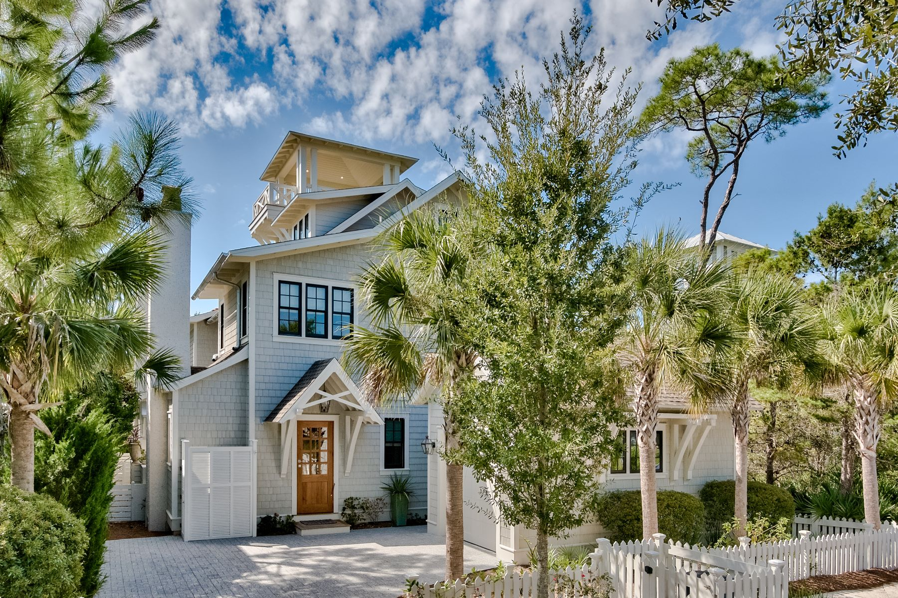 Single Family Homes for Sale at Bespoke Beach Home with Pool South of Scenic 30A 140 E Yacht Pond Lane Watersound, Florida 32461 United States