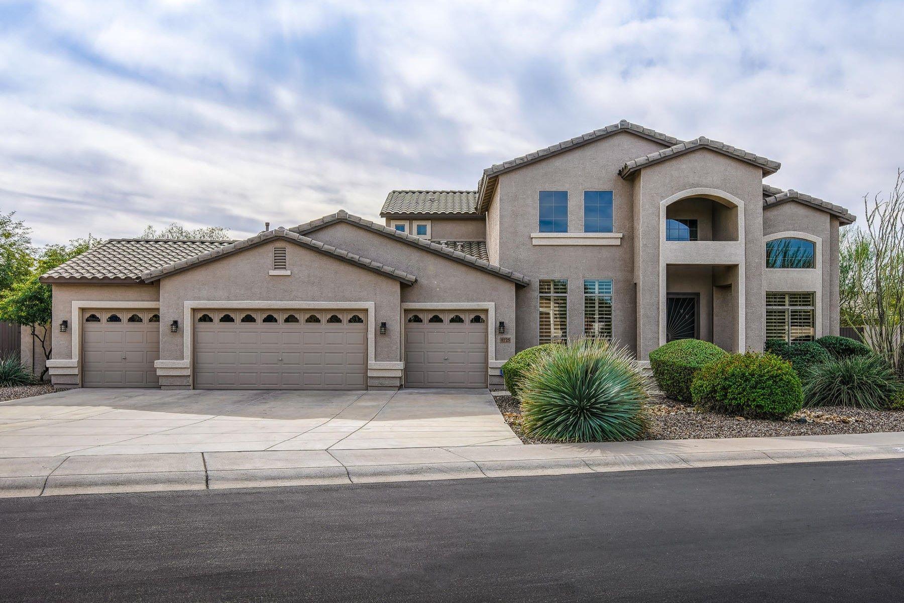 Single Family Homes por un Venta en Estates at Desert Shadows 8125 E Kramer Street Mesa, Arizona 85207 Estados Unidos