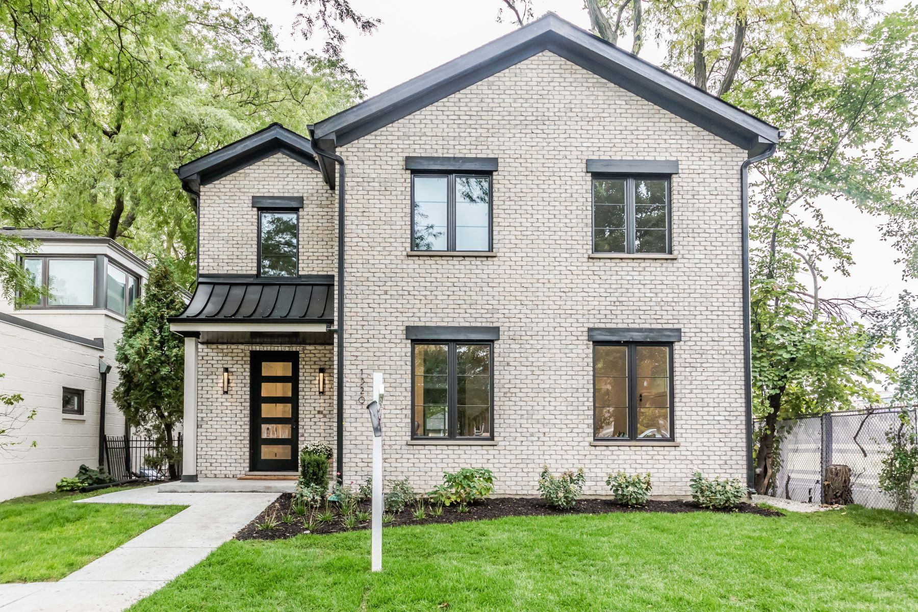 Single Family Home for Active at Impressive And Modern 1320 Jenks Street Evanston, Illinois 60201 United States