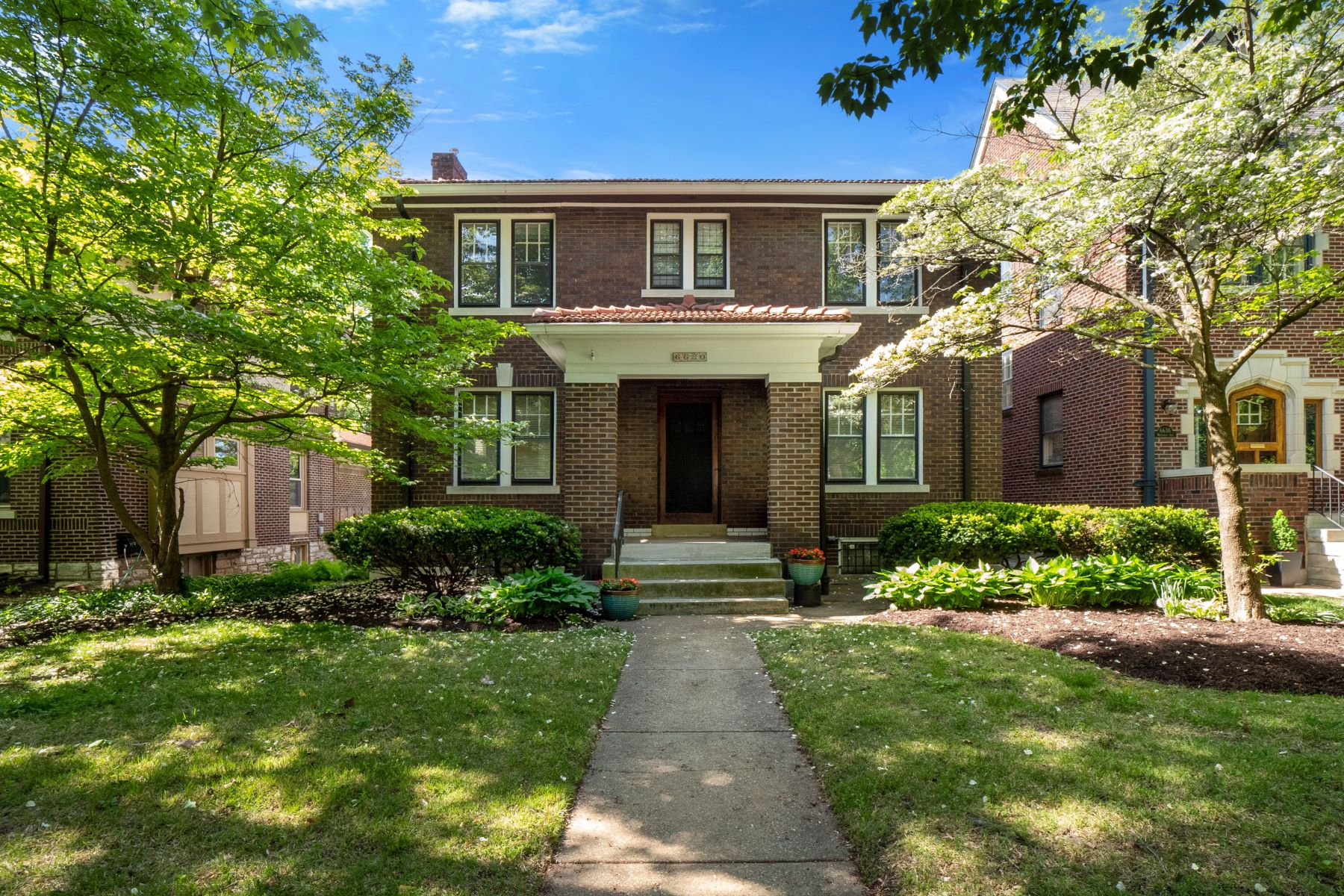 Single Family Homes for Sale at Ames Place's Most Charming Home 6630 Waterman Avenue University City, Missouri 63130 United States