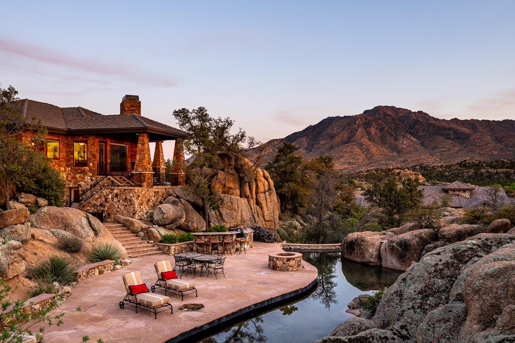 Single Family Homes 为 销售 在 American Ranch 4580 W Cooks Well CIR 普雷斯科特, 亚利桑那州 86305 美国