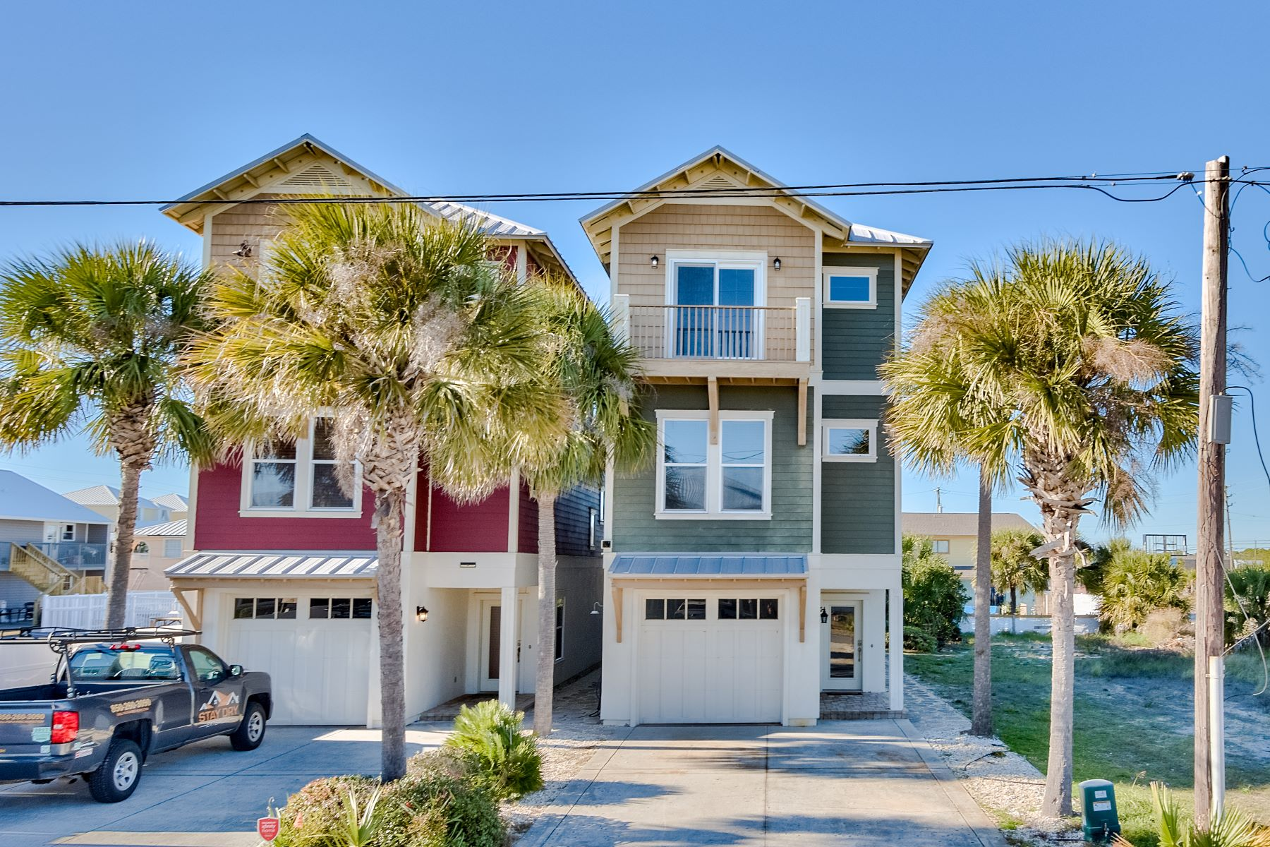 Single Family Homes for Sale at Lovely Beach Home Exemplifies Fine Workmanship Throughout 4118 Utes Street Panama City Beach, Florida 32408 United States