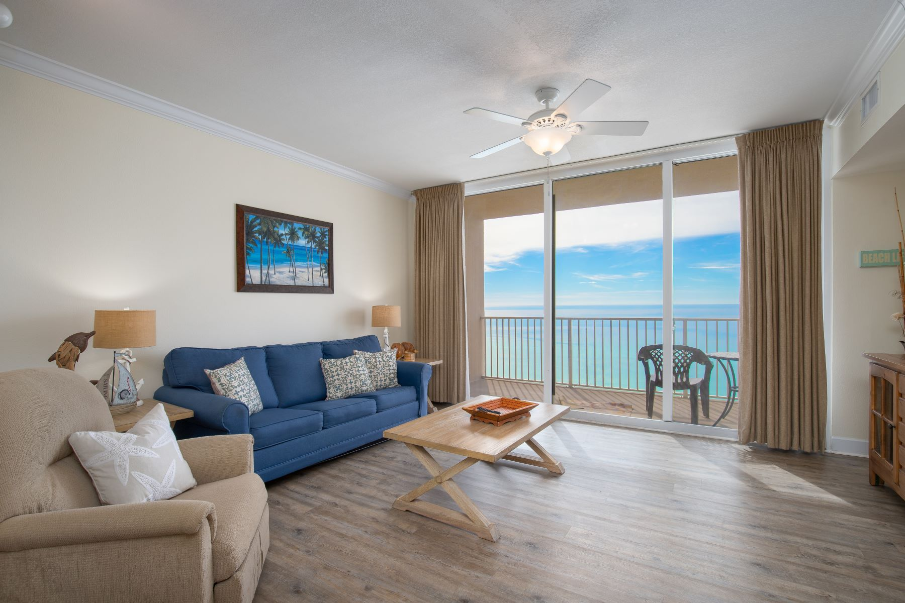 Condominiums for Sale at Beachfront Condo in Excellent Condition with Amazing Views 16819 Front Beach Road 815 Panama City Beach, Florida 32413 United States