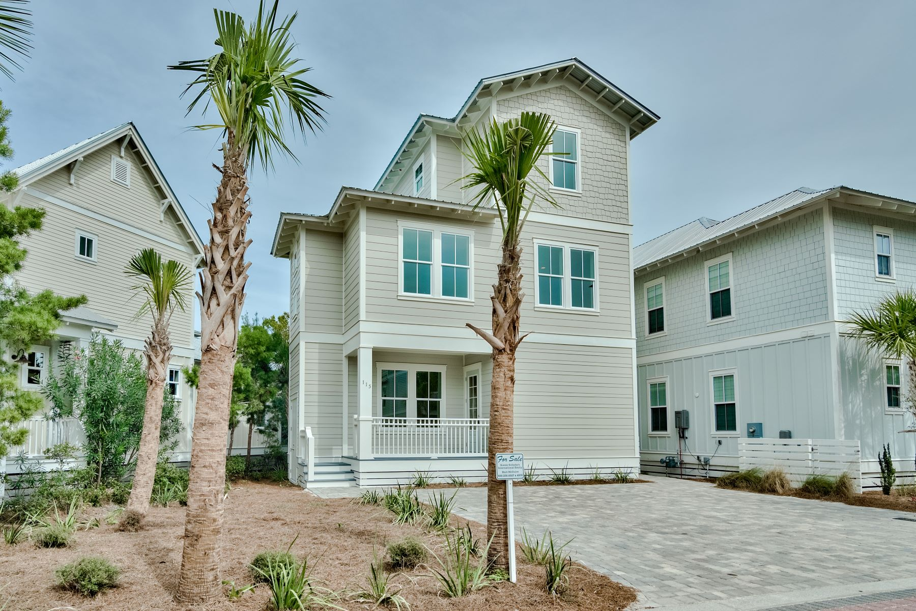 Single Family Homes for Sale at New House Offers Great Investment Opportunity 115 Flip Flop Lane Seacrest, Florida 32461 United States