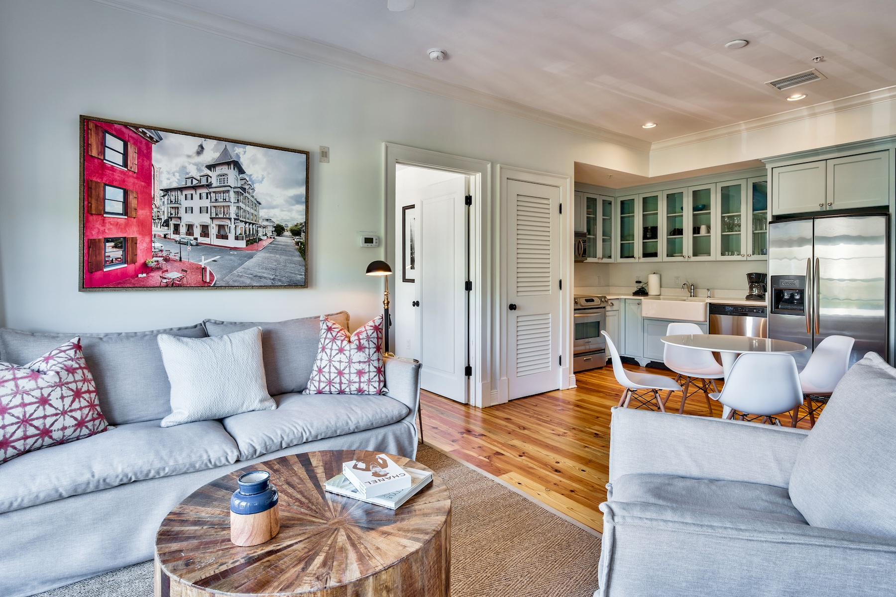 condominiums for Active at Highly Sought-After Rosemary Beach Condo with Notable Luxury Features 104 North Barrett Square 2E Rosemary Beach, Florida 32461 United States