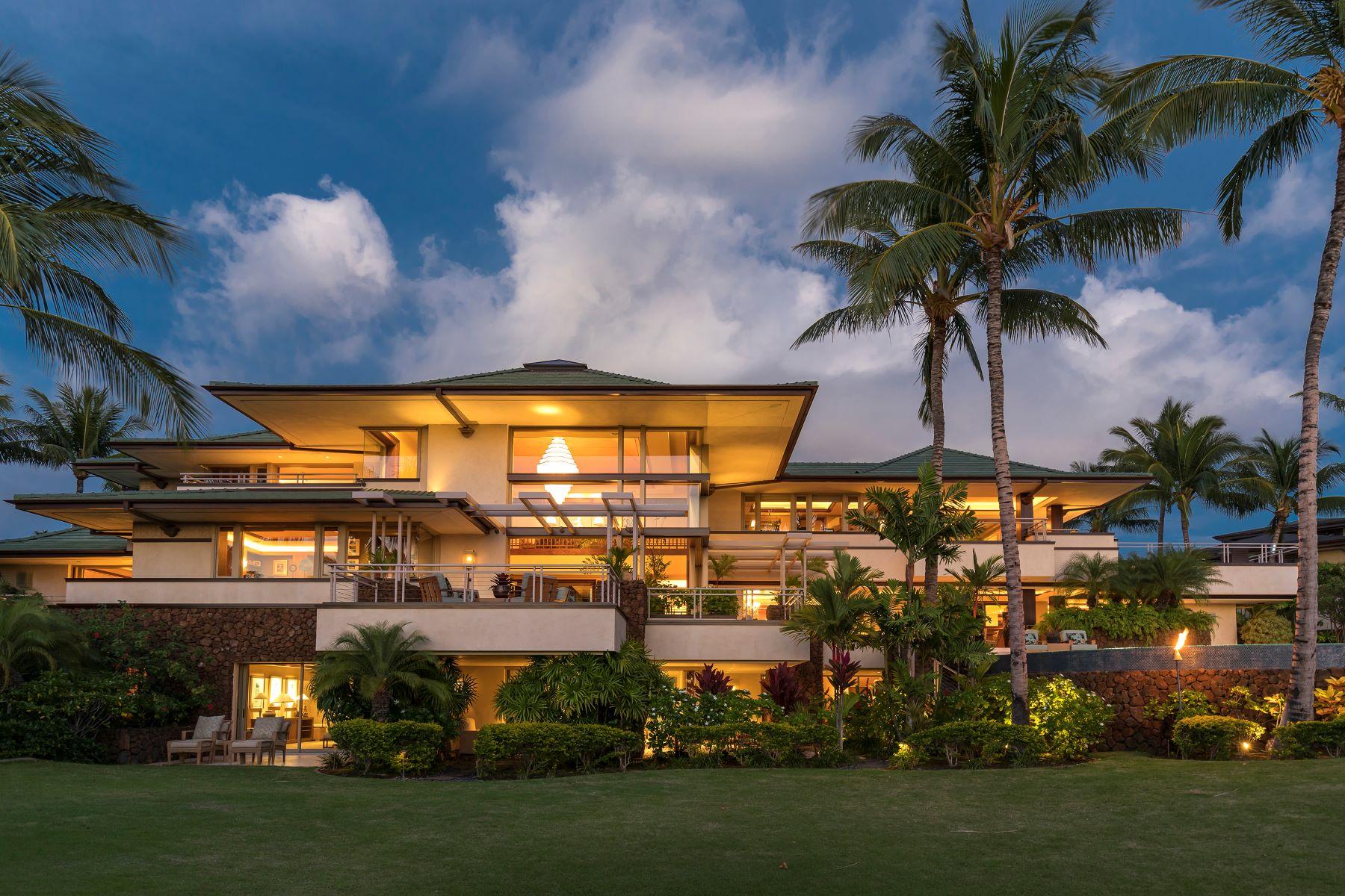 Single Family Homes para Venda às LIVE at The Bluffs at Mauna Kea 62-3692 Ki'Eki'Ena Pl, Kamuela, Havaí 96743 Estados Unidos