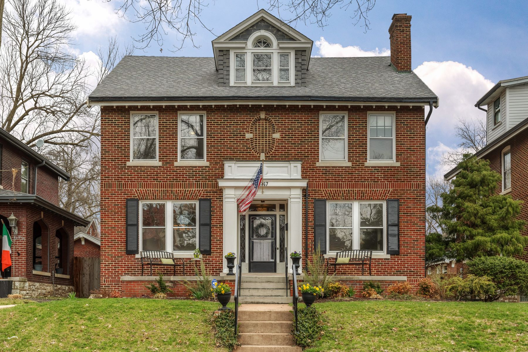 Property for Sale at Exceptional Ames Place Home 6947 Pershing Avenue University City, Missouri 63130 United States