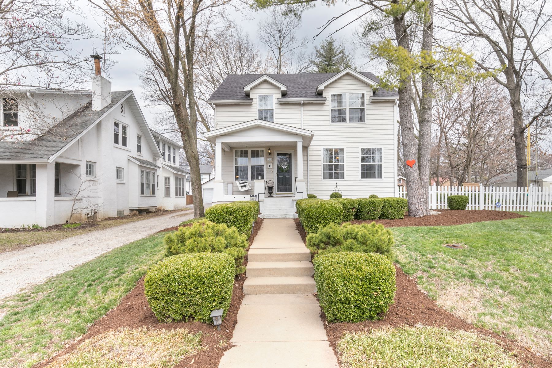 Single Family Home for Sale at Quintessential Webster Groves Home 7815 Weil Avenue St. Louis, Missouri 63119 United States