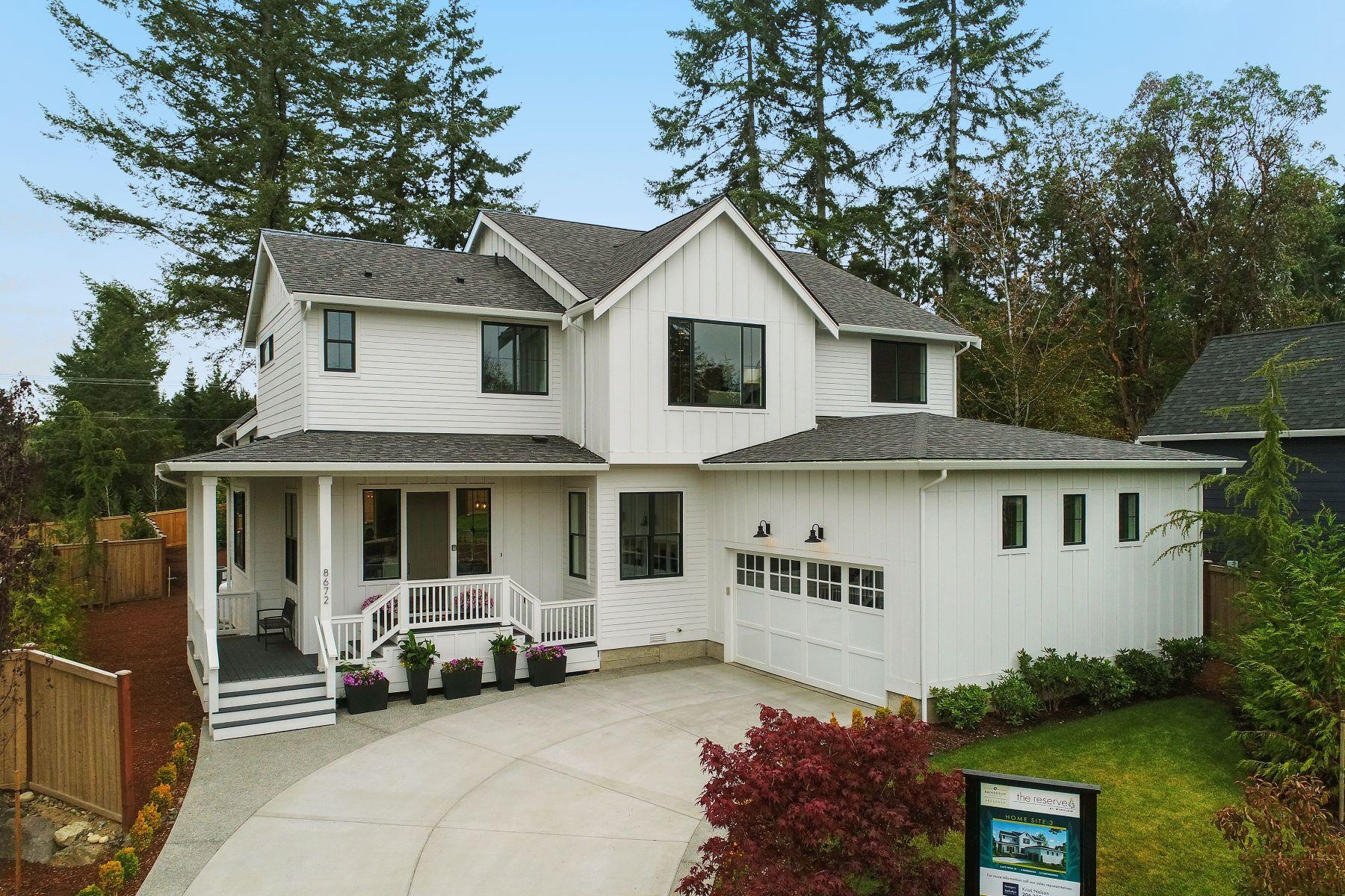 Single Family Homes por un Venta en 8672 Northeast Reserve Way, Bainbridge Island, WA 98110 8672 NE Reserve Way Bainbridge Island, Washington 98110 Estados Unidos