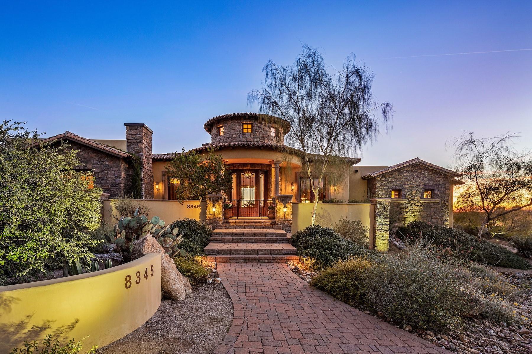 Single Family Homes por un Venta en Las Sendas 8345 E Echo Canyon Cir Mesa, Arizona 85207 Estados Unidos