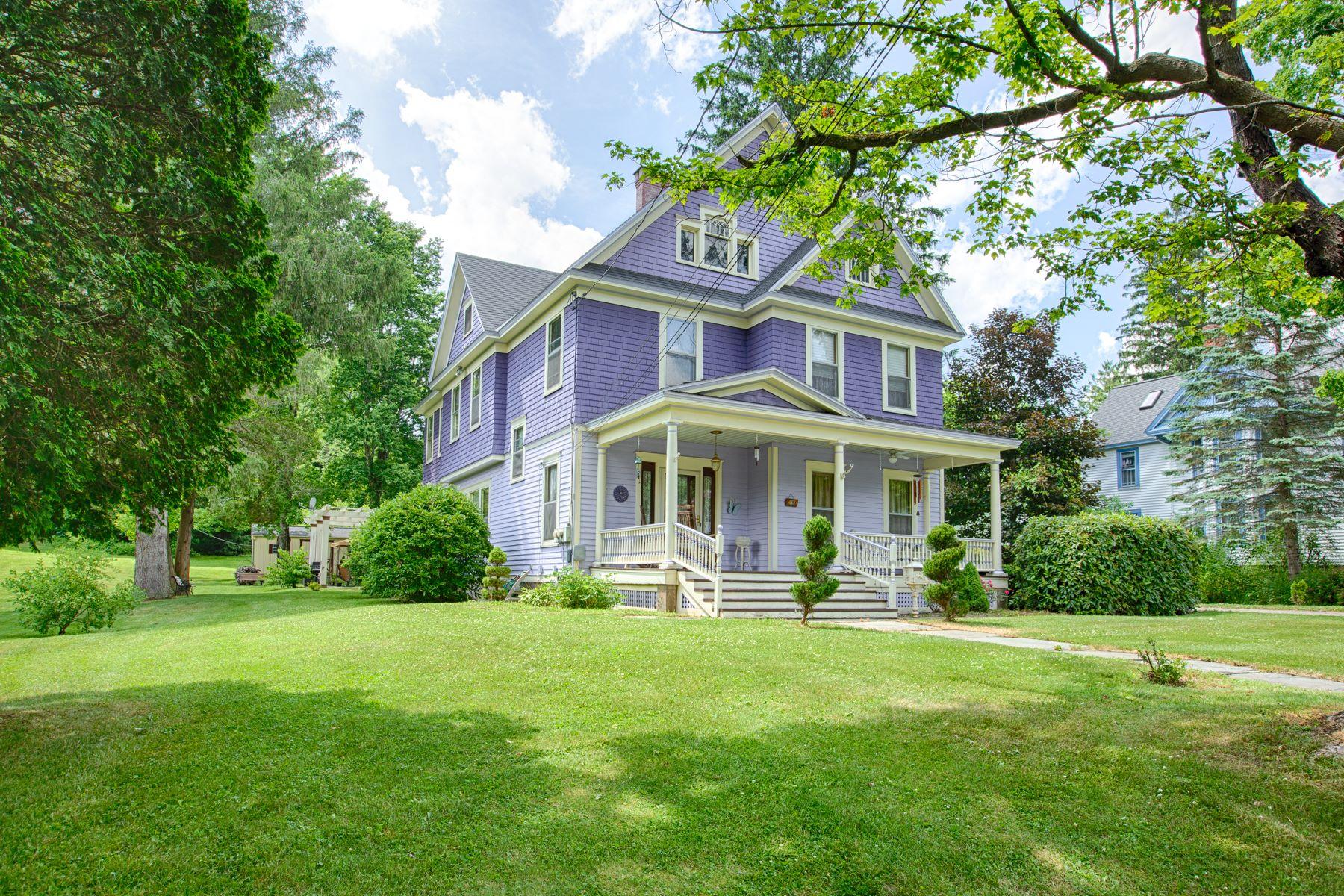 Single Family Homes for Sale at 141 Leonard St, Hancock, Ny, 13783 141 Leonard St Hancock, New York 13783 United States