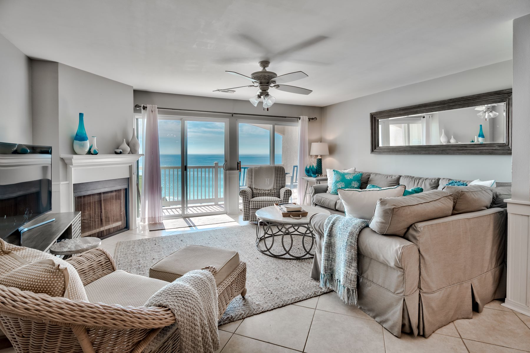 Condominiums for Sale at Beautiful and Spacious Beachfront Condo in Seacrest with Pool 8394 East County Highway 30A 5B Inlet Beach, Florida 32461 United States