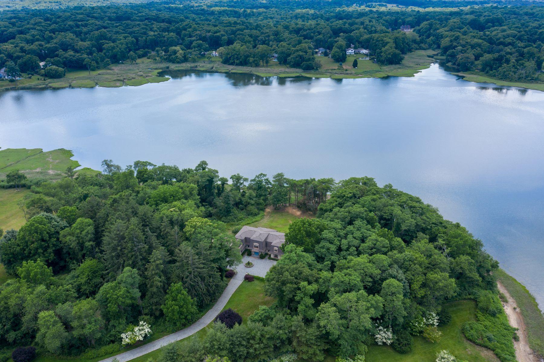 Single Family Homes 為 出售 在 117 Horseshoe Road, Mill Neck, Ny, 11765 Mill Neck, 纽约 11765 美國