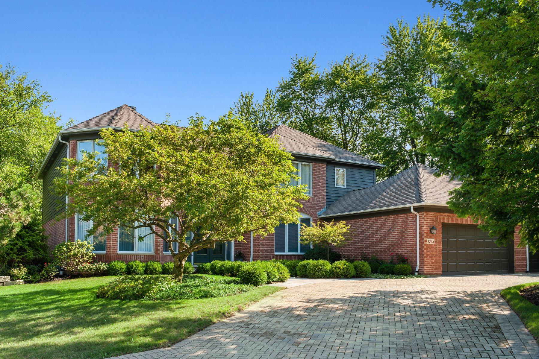 Single Family Homes para Venda às Beautifully Updated Highland Park Home 1701 Thornwood Lane, Highland Park, Illinois 60035 Estados Unidos