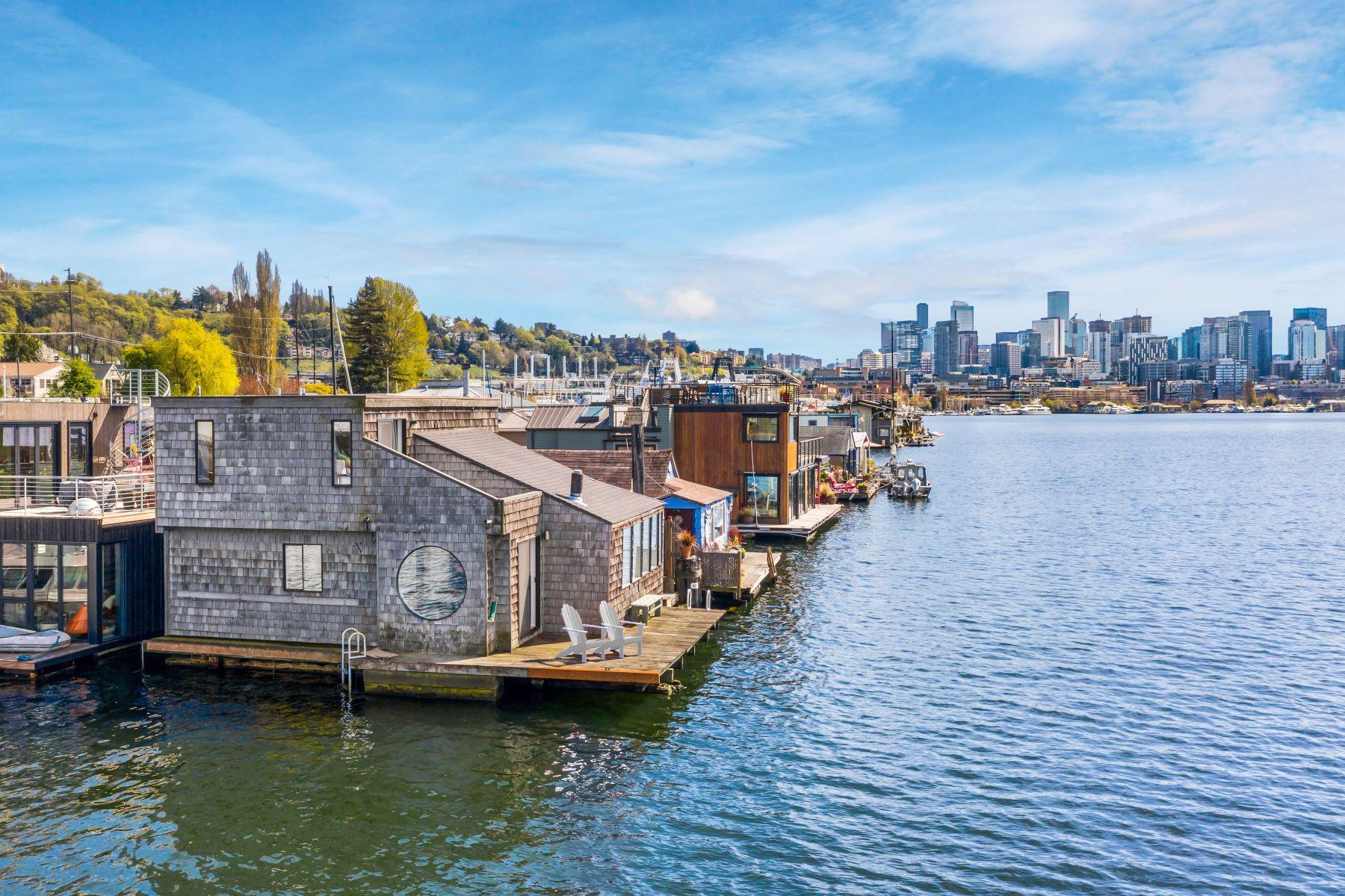 Single Family Homes 為 出售 在 2235 Fariview Ave E Unit #16, Seattle, WA 98102 Seattle, 華盛頓州 98102 美國