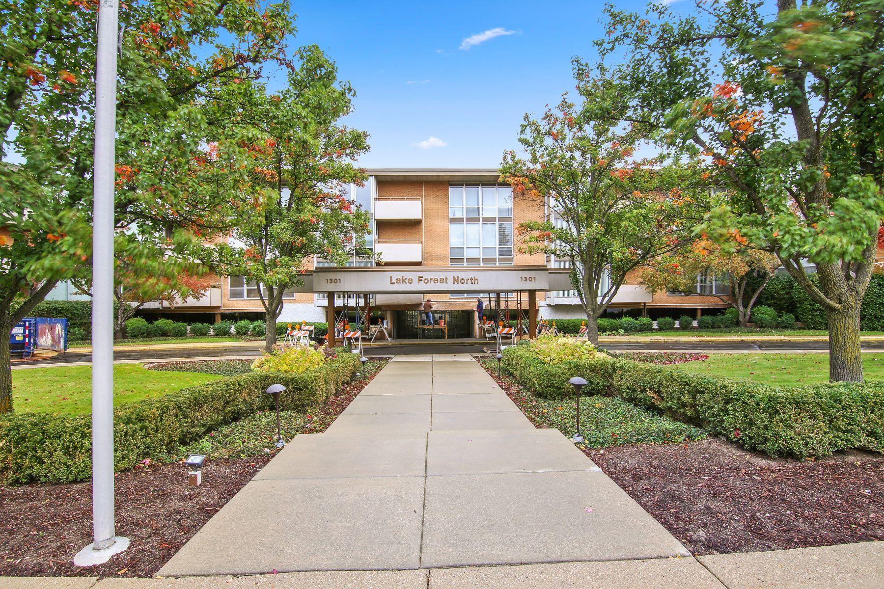 Condominiums للـ Sale في Spacious and Bright Condo 1301 N Western Avenue Unit 211, Lake Forest, Illinois 60045 United States