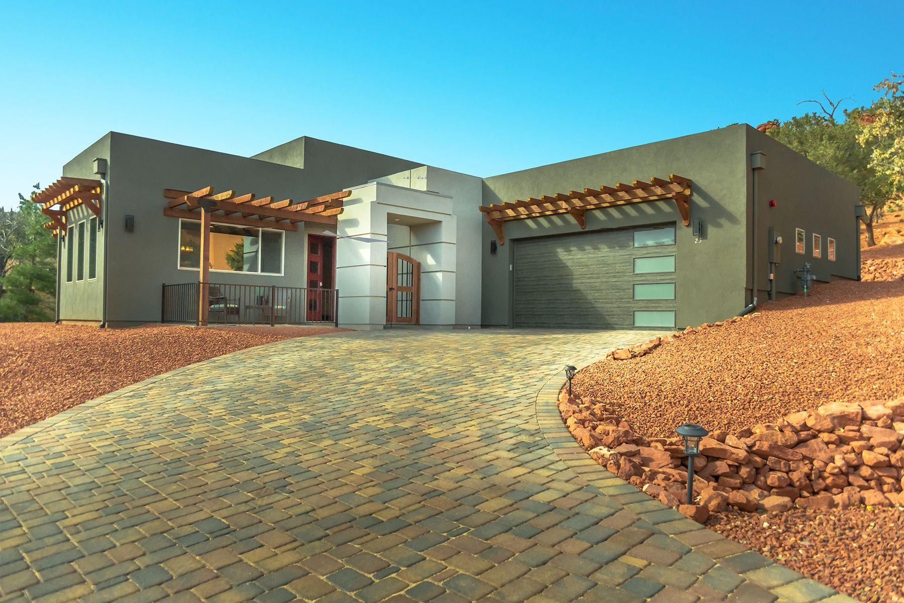Single Family Homes por un Venta en Oak Shadows 25 Red Range Circle Sedona, Arizona 86351 Estados Unidos