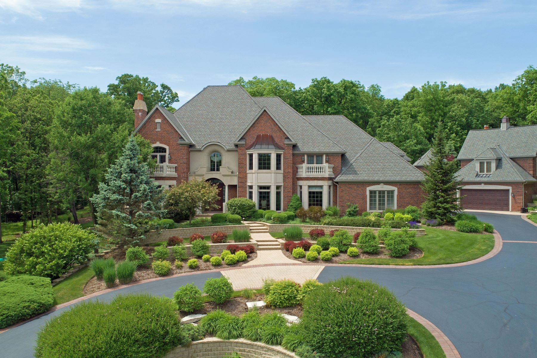 Single Family Homes for Sale at Tranquil gated estate 38w685 Forest Glen Court St. Charles, Illinois 60175 United States