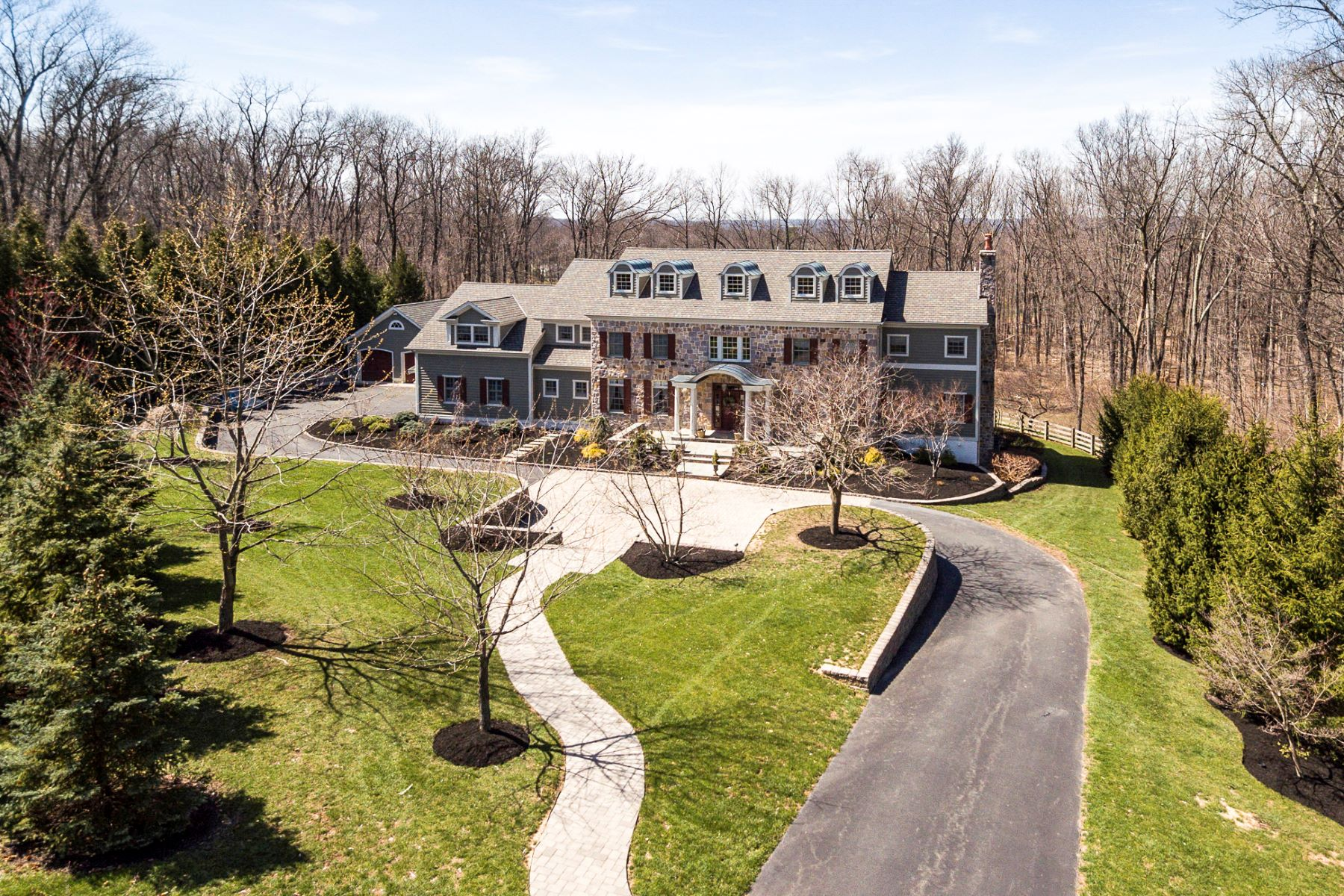 Single Family Homes للـ Sale في Elegant Design And The Finest Craftsmanship 6 Stout Road, Princeton, New Jersey 08540 United States