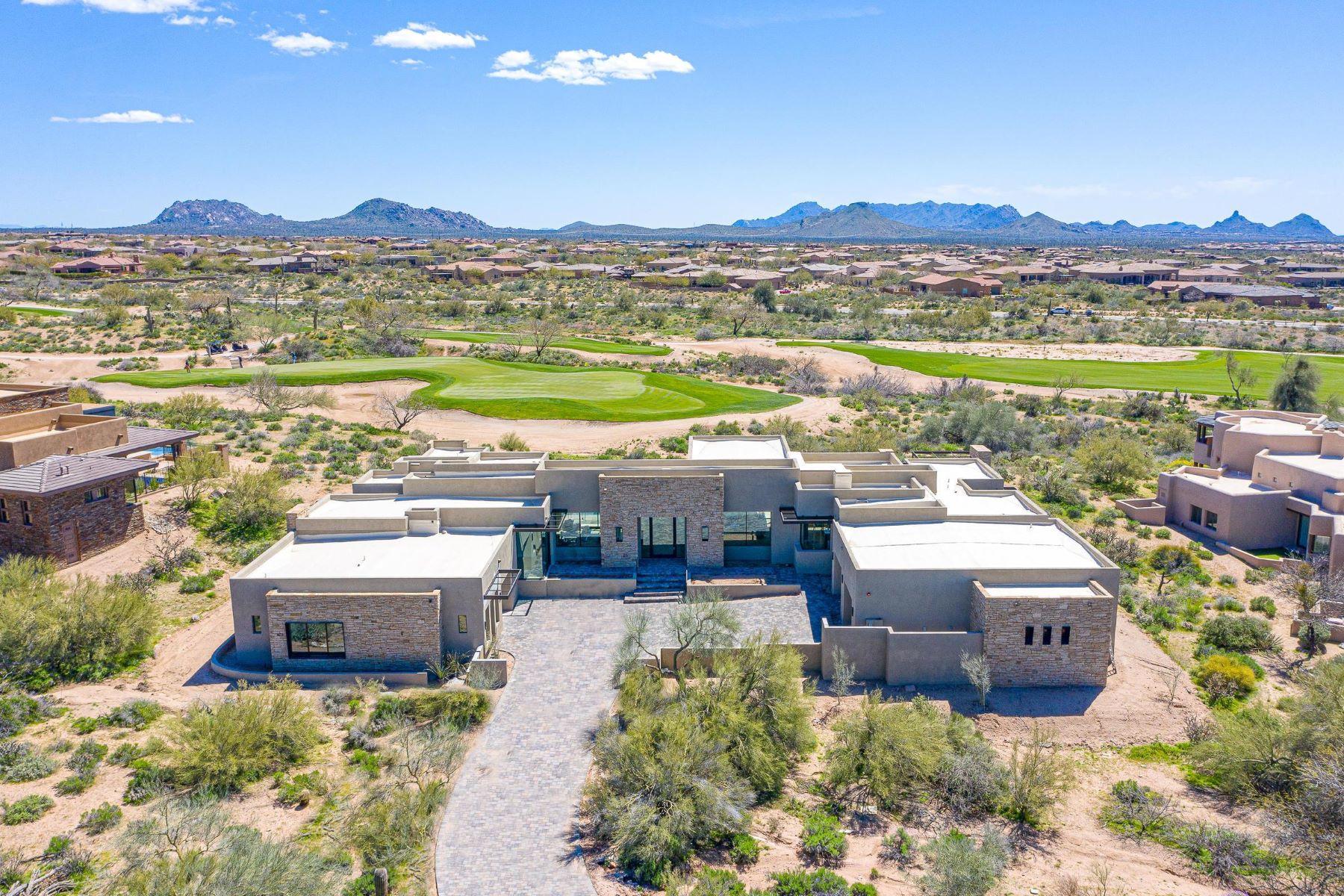 Single Family Homes por un Venta en Sunrise at Desert Mountain 9945 E Sundance Trail Scottsdale, Arizona 85262 Estados Unidos
