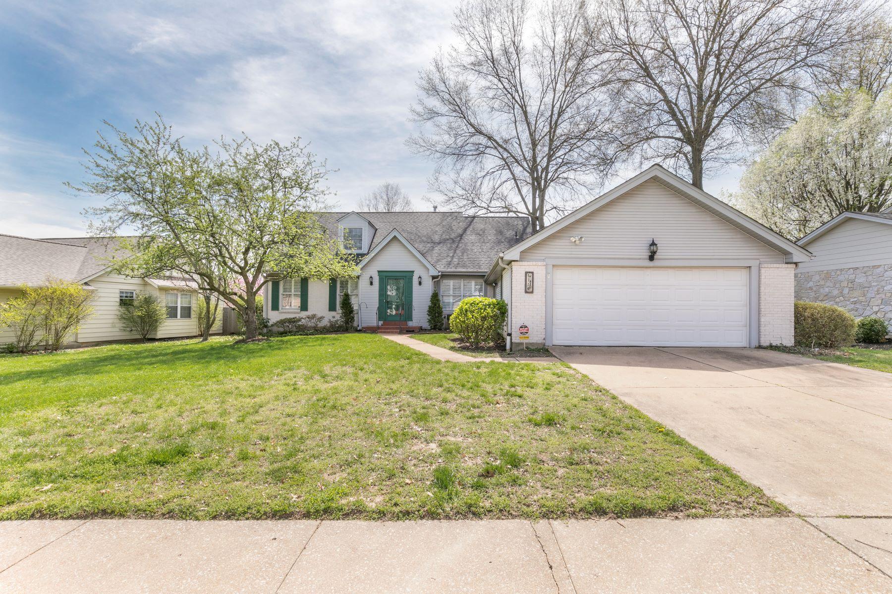 Частный односемейный дом для того Продажа на Seven Oaks Neighborhood 1750 Blakefield Terrace Ballwin, Миссури 63021 Соединенные Штаты