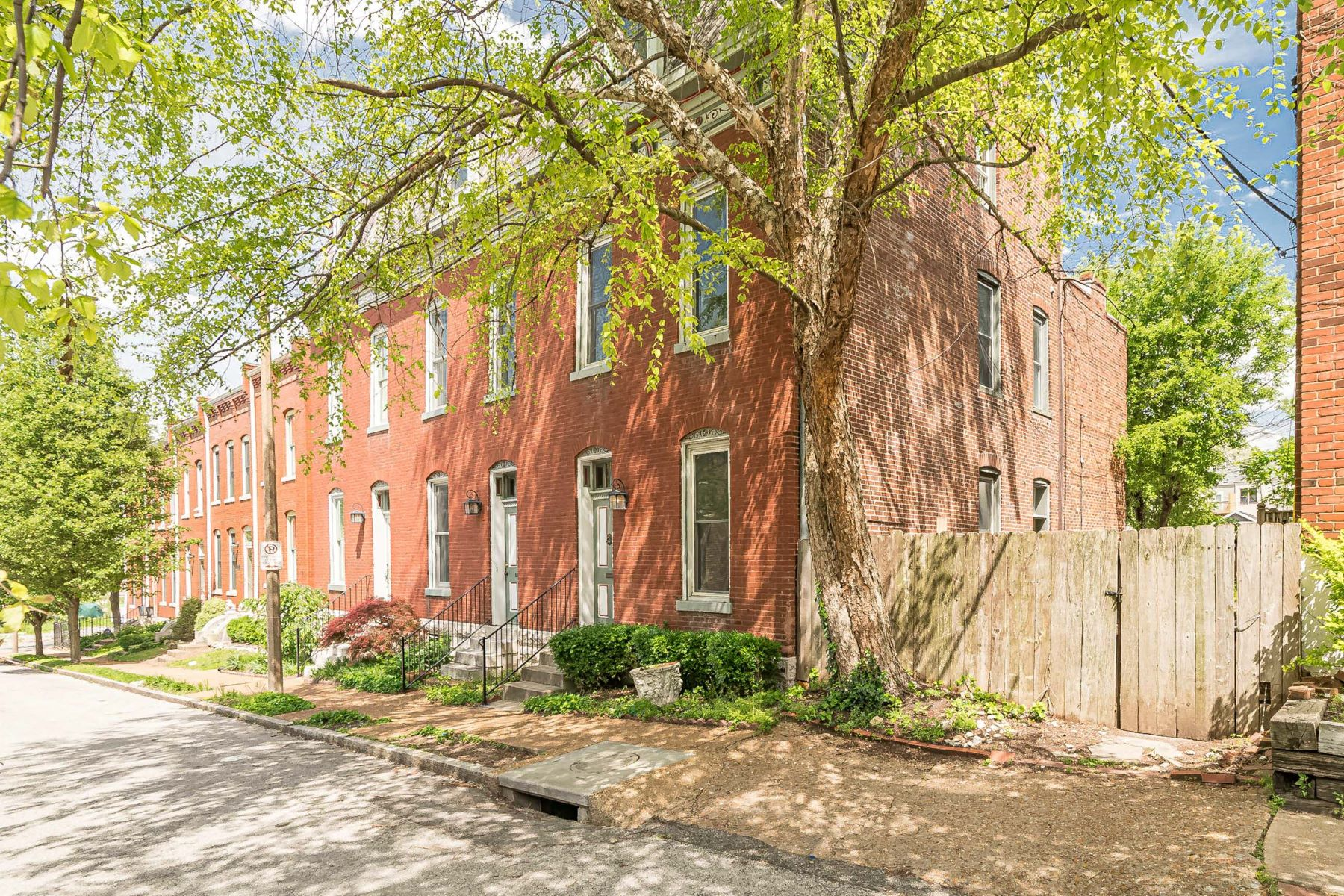 Property for Sale at Beautifully Renovated 2 1/2 Story in Historic Lafayette Square 1214 Missouri Avenue St. Louis, Missouri 63104 United States