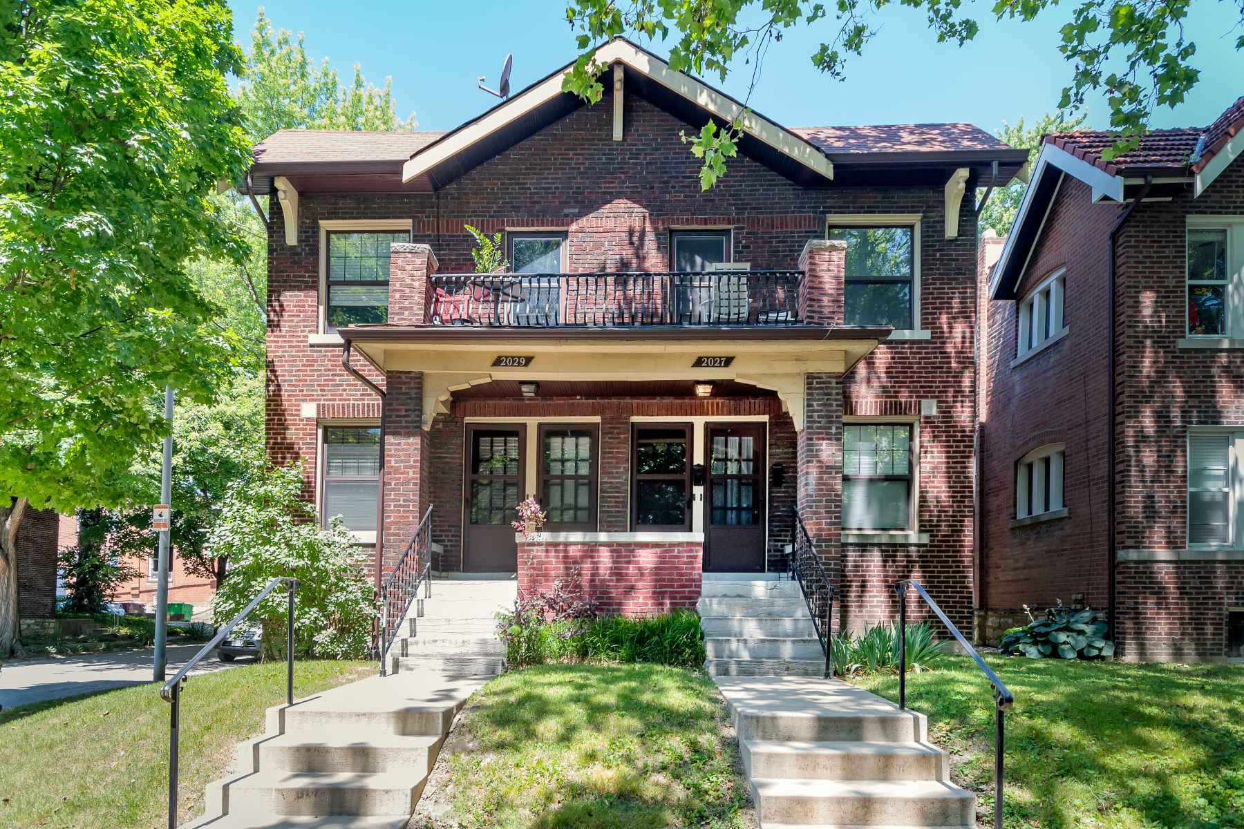 Multi-Family Homes for Sale at Beautiful Southwest Garden Multi-Family 2027 Alfred Avenue St. Louis, Missouri 63110 United States