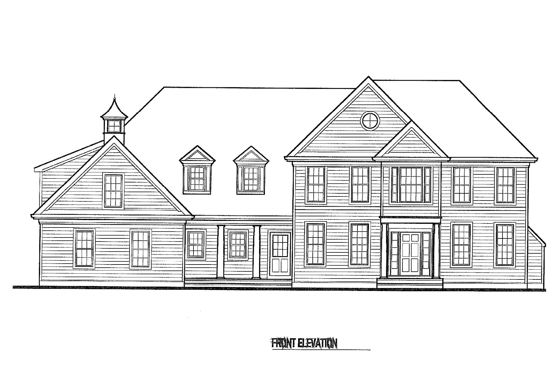 Single Family Homes voor Verkoop op New Construction in Princeton 377 Terhune Road, Princeton, New Jersey 08540 Verenigde Staten