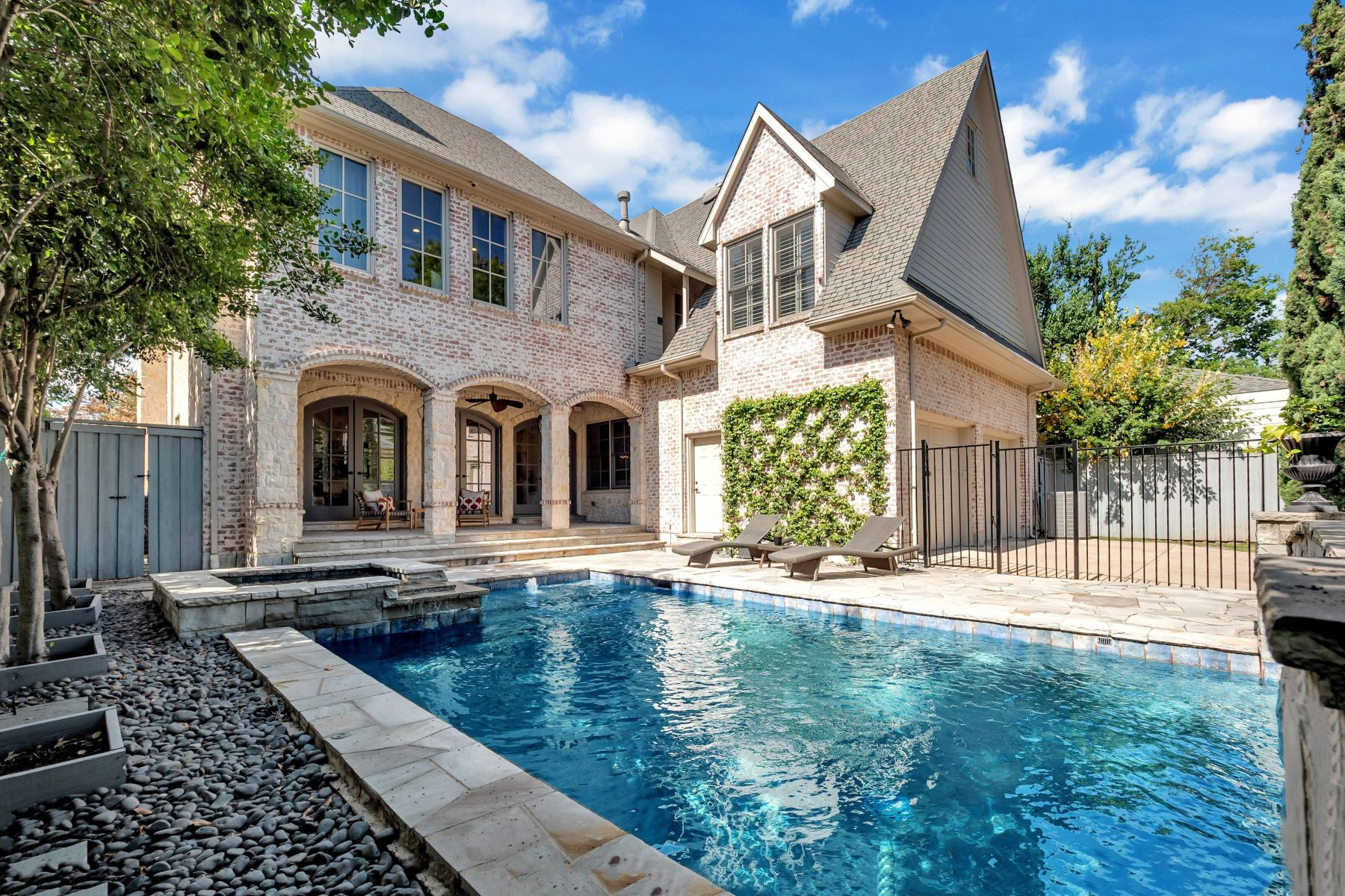 Single Family Homes for Sale at University Park Traditional with Sophisticated French Flair 3421 Wentwood Drive University Park, Texas 75225 United States