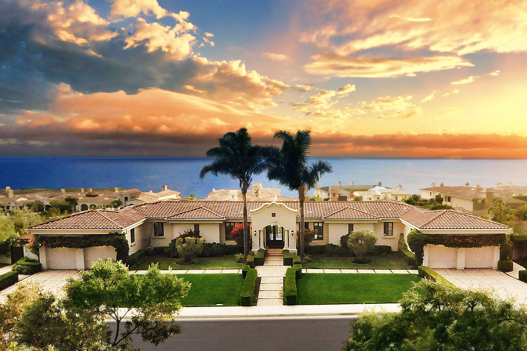Single Family Homes for Sale at 63 Paseo Del La Luz, Rancho Palos Verdes, CA 90275 63 Paseo Del La Luz Rancho Palos Verdes, California 90275 United States
