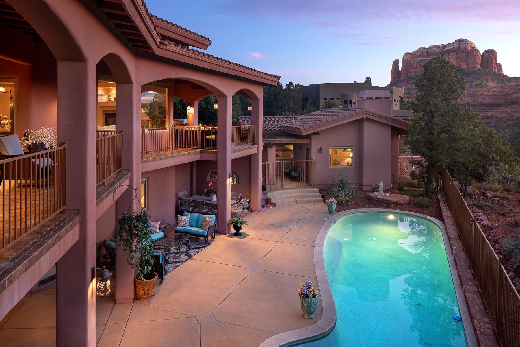 Single Family Homes for Active at Back O Beyond Ranch 225 Scenic Drive Sedona, Arizona 86336 United States