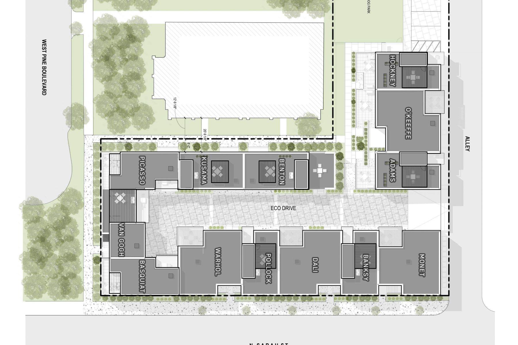 Additional photo for property listing at Hockney 13 — Artizén on West Pine 4101 West Pine Boulevard #13 - Hockney St. Louis, Missouri 63108 United States