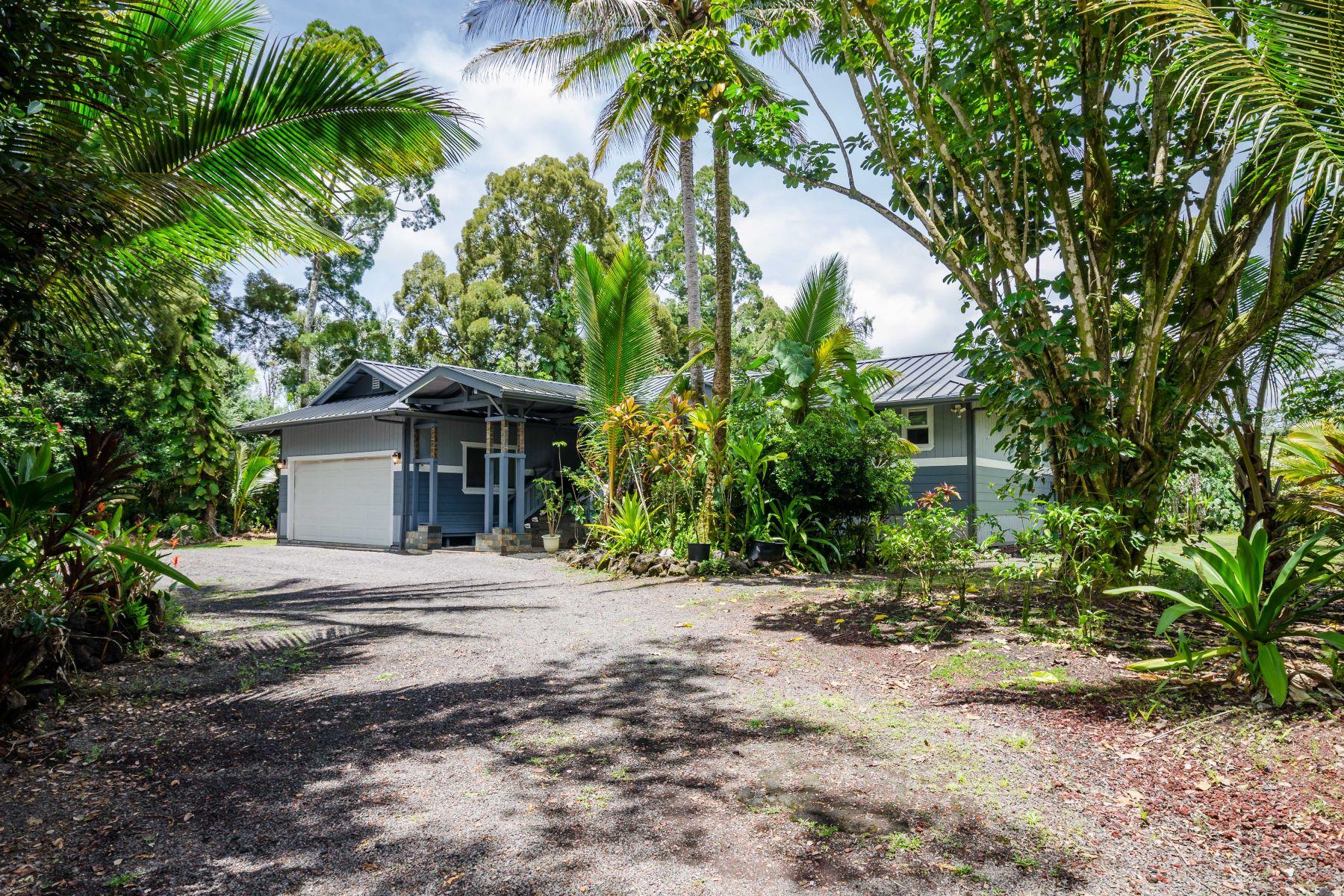 Single Family Homes för Försäljning vid 15-1668 13th Avenue, Keaau, HI 96749 Keaau, Hawaii 96749 Förenta staterna