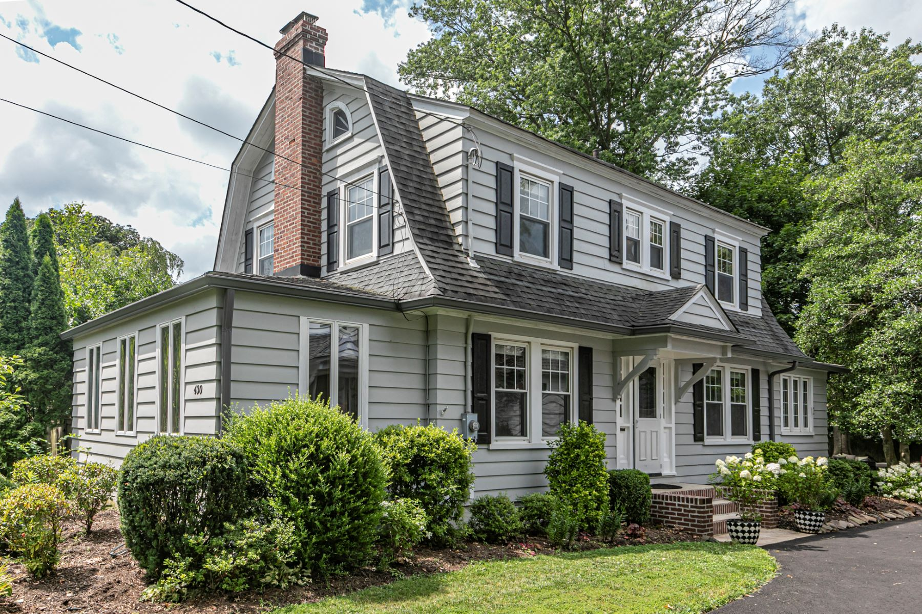 Single Family Homes for Sale at Updated, Stylish, & Sweet As Can Be 430 Burd Street, Pennington, New Jersey 08534 United States