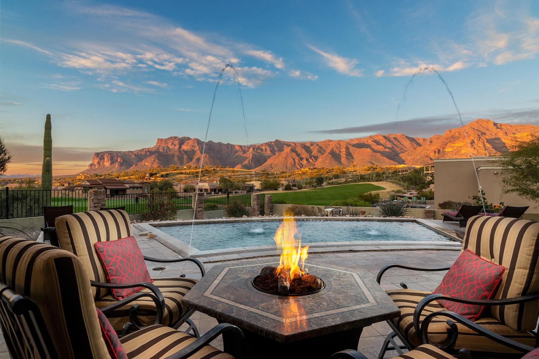 Single Family Homes για την Πώληση στο Golf Course & Mtn. Views! 4084 S Camino De Vida, Gold Canyon, Αριζονα 85118 Ηνωμένες Πολιτείες