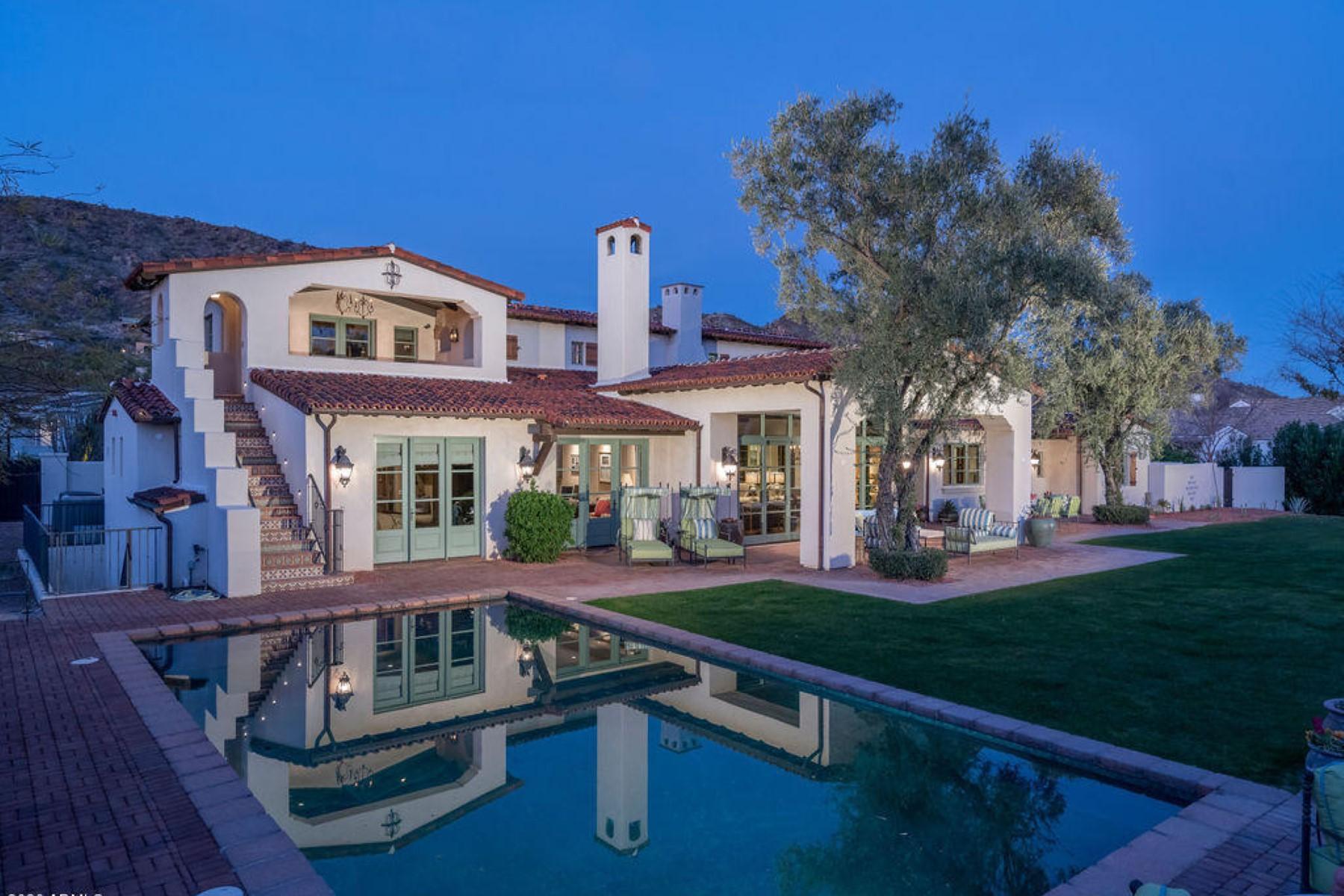 Single Family Homes for Sale at Club Estates 5729 E Cactus Wren RD Paradise Valley, Arizona 85253 United States