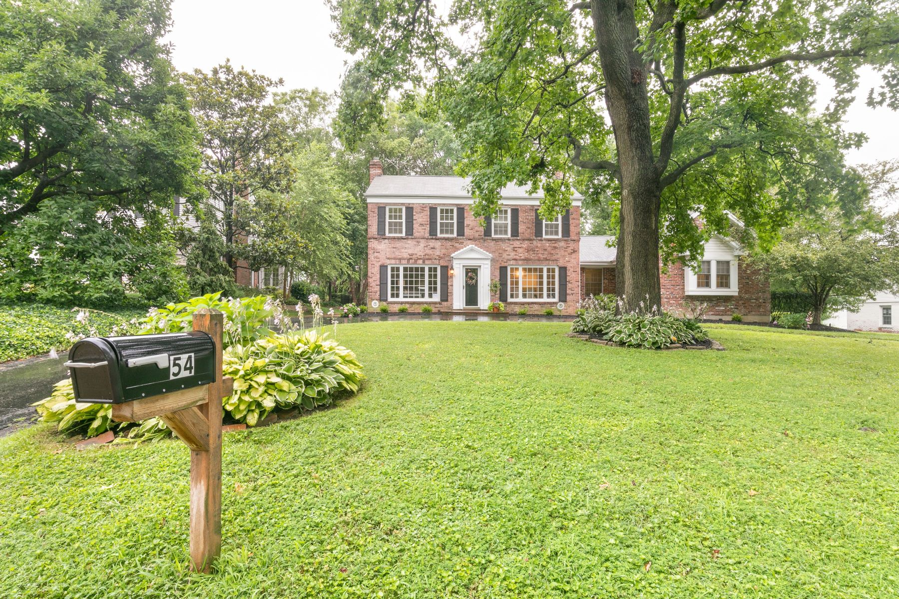 Single Family Homes for Sale at Chevy Chase pastoral setting & modern elegance converge 54 Highgate Road Olivette, Missouri 63132 United States