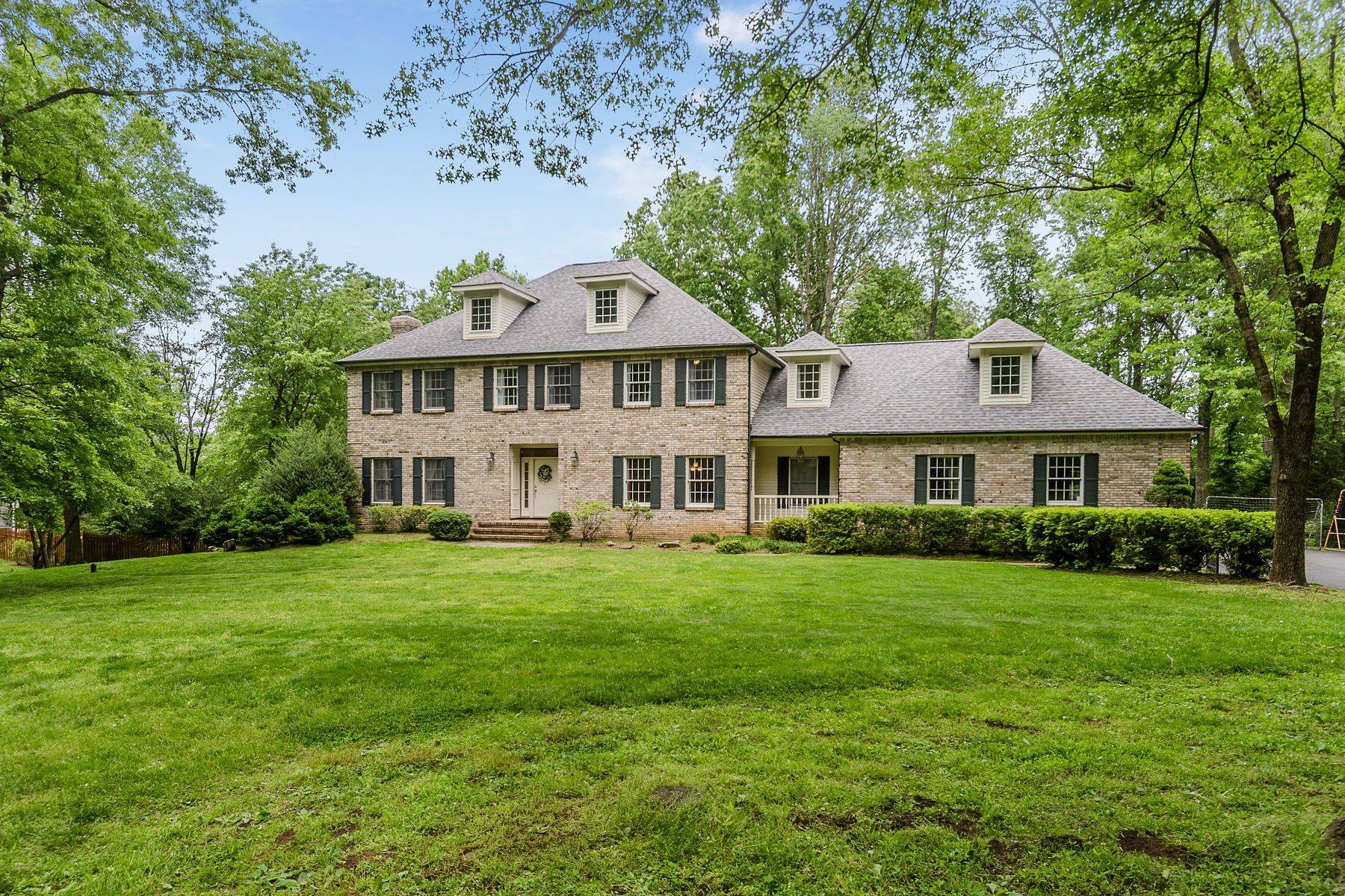 Property for Sale at Distinctive Princeton Colonial in Tranquil Setting 210 Arreton Road, Princeton, New Jersey 08540 United States