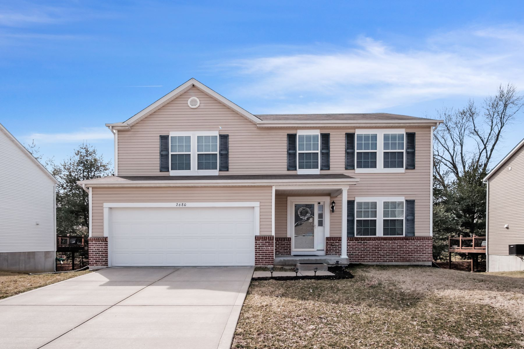 Single Family Homes for Sale at An Oasis In Newer Hazelwood Schools Subdivision 2680 Valley Brook Drive, Florissant, Missouri 63031 United States