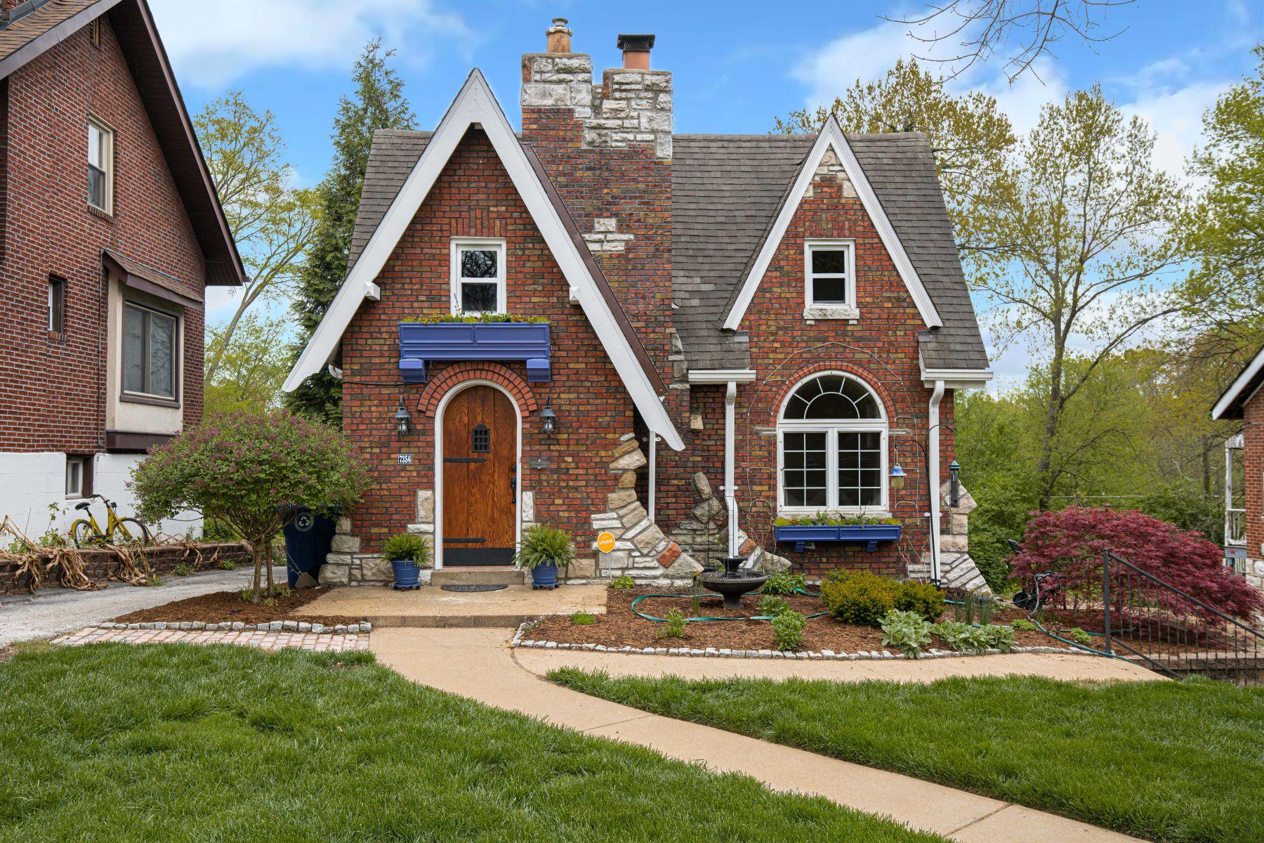 Single Family Homes for Sale at Storybook Tudor 7356 Wellington Avenue University City, Missouri 63130 United States