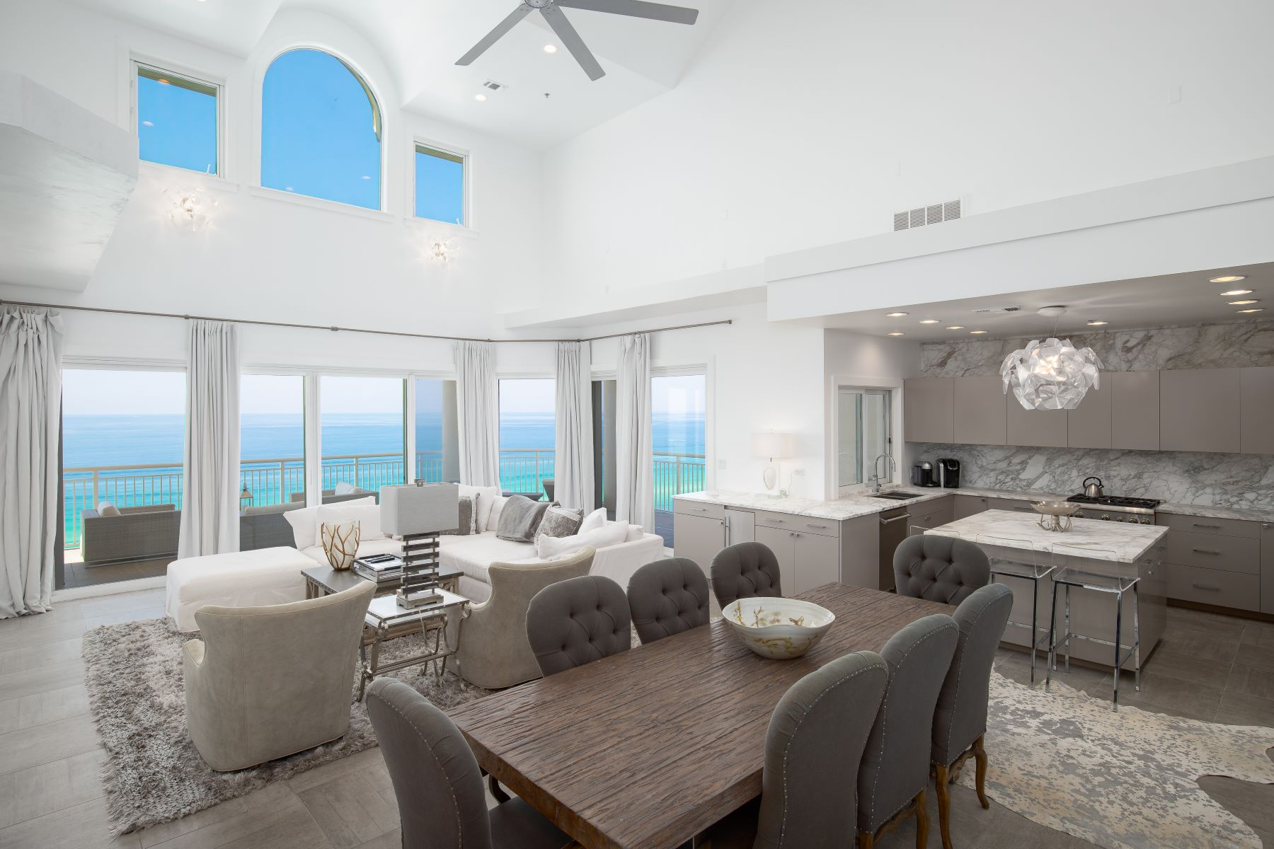 Condominiums for Active at Two-story Gulf-front Penthouse Condo at Hidden Dunes Resort 1110 Grand Villas Drive Miramar Beach, Florida 32550 United States