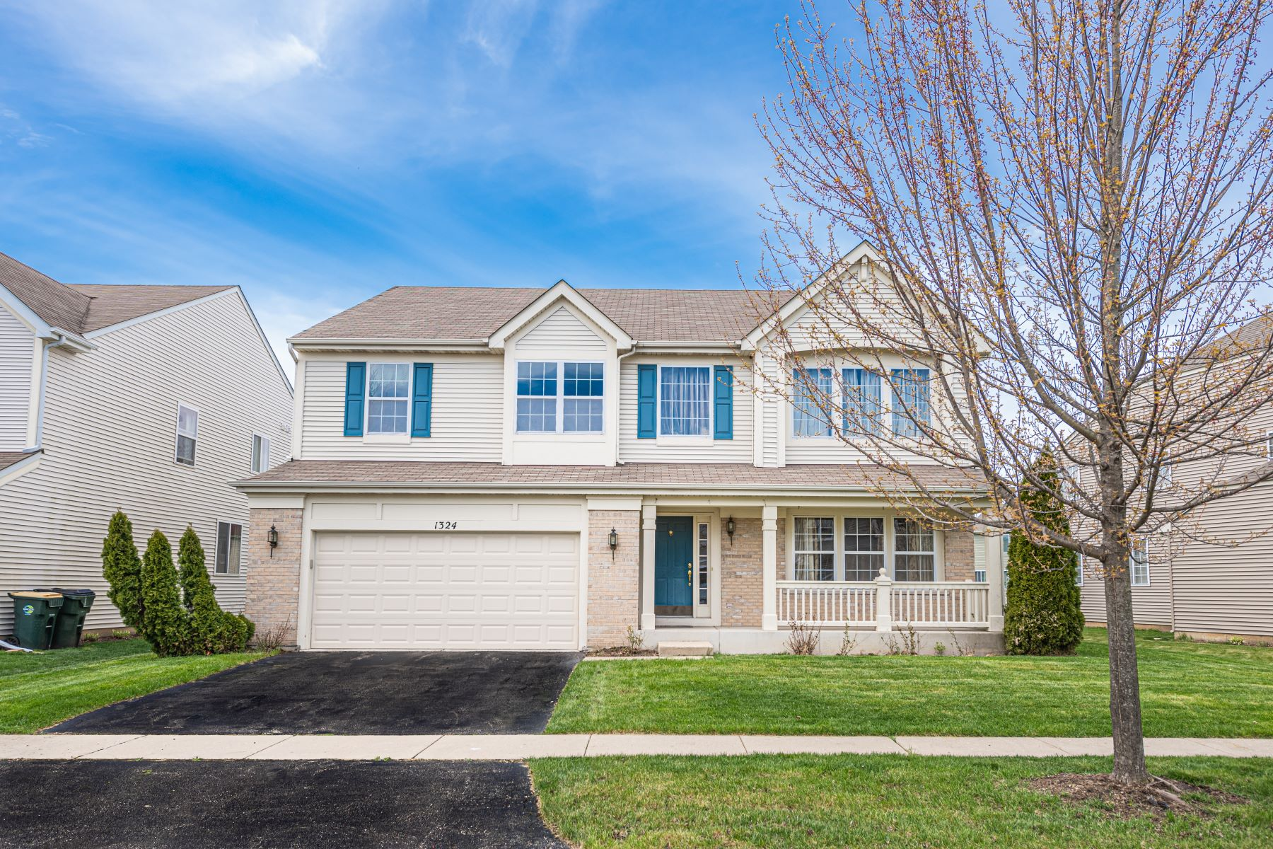 Single Family Homes para Venda às Symphony Meadows 1324 Baroque Avenue Volo, Illinois 60073 Estados Unidos