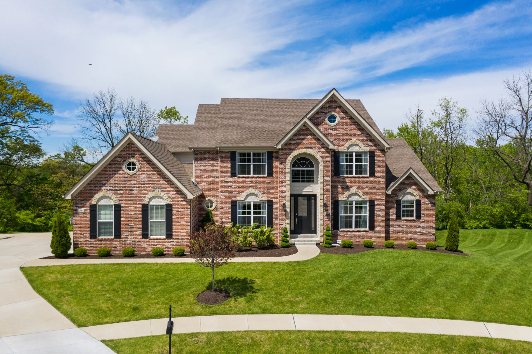 Single Family Homes for Sale at Exceptional Colonial Brick & Stone Home 194 Belle Maison Court Creve Coeur, Missouri 63141 United States